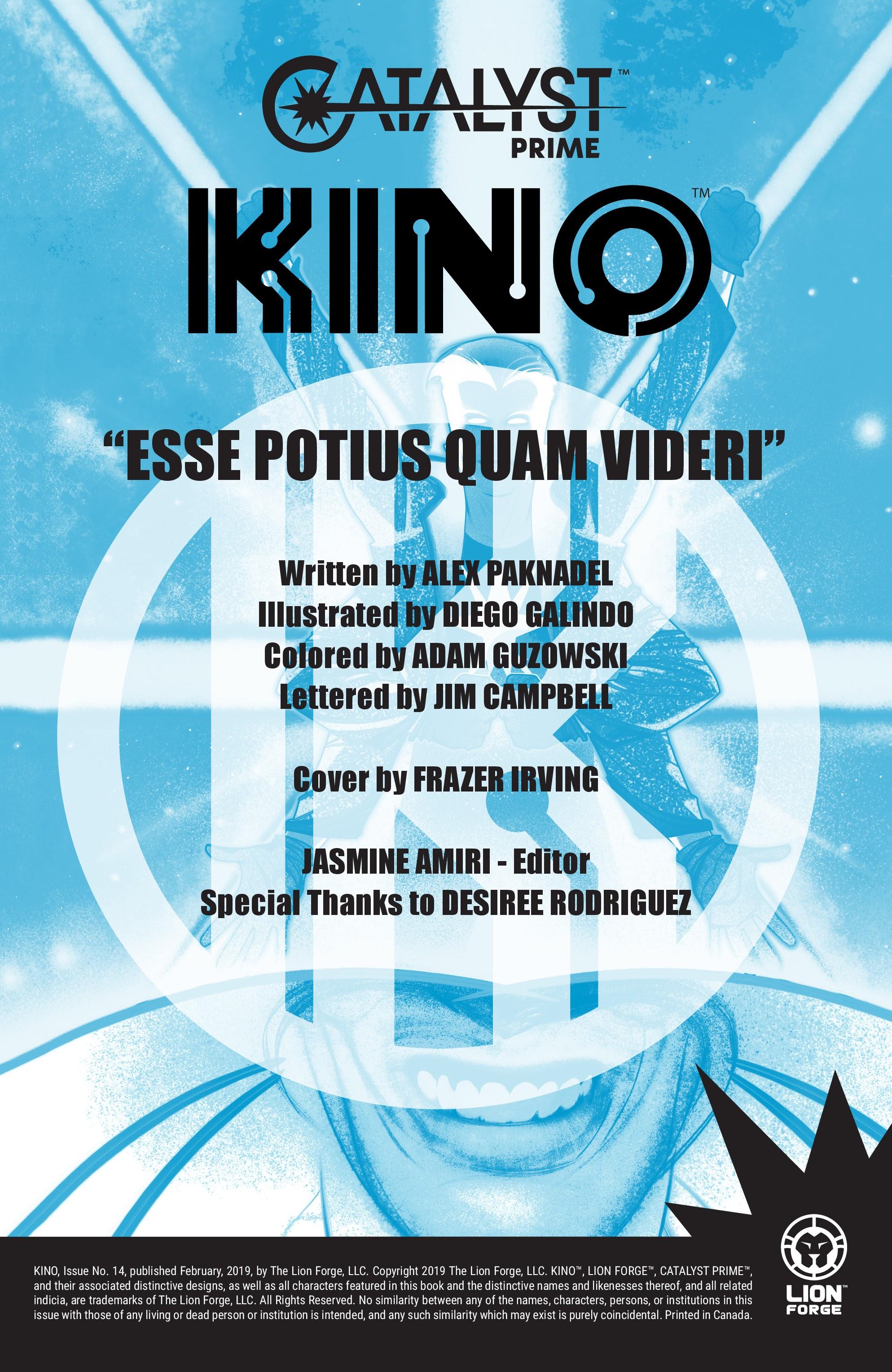 KINO #14 #14 - English 2