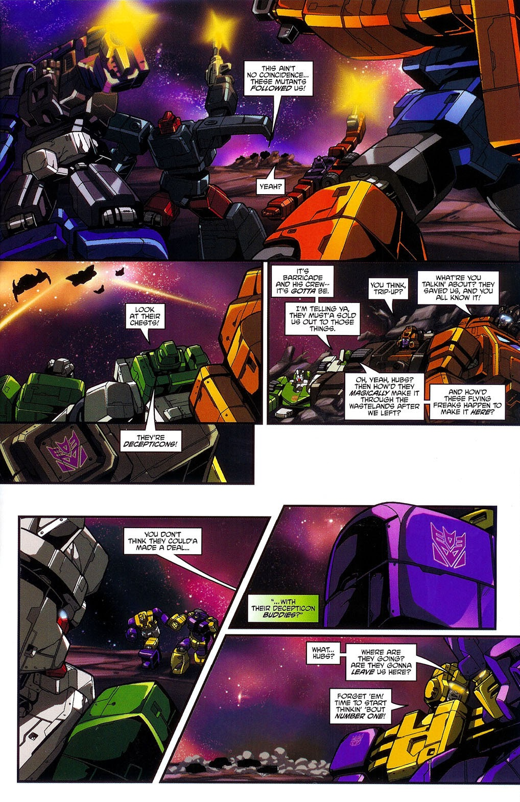 Read online Transformers: Micromasters comic -  Issue #3 - 7