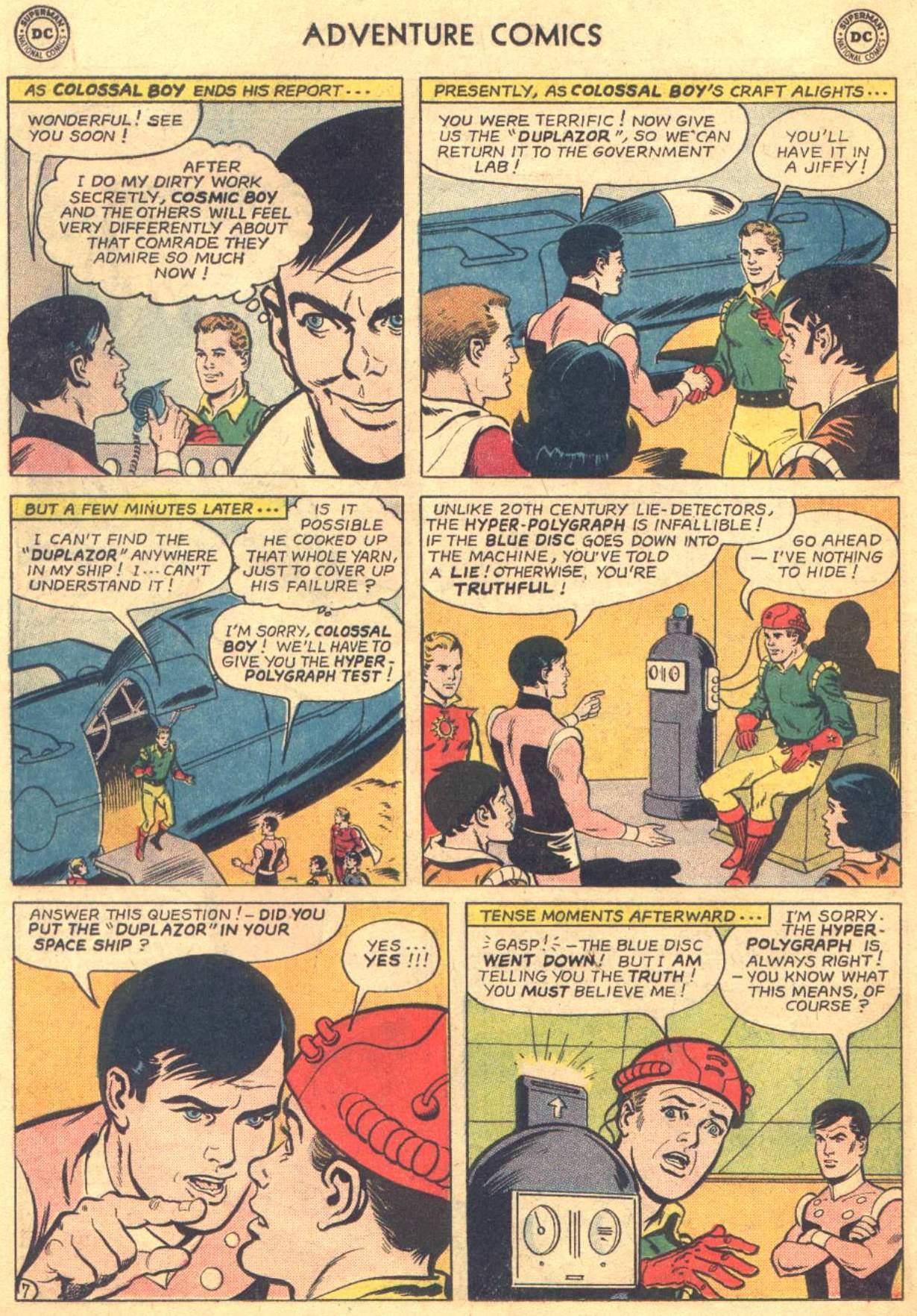 Read online Adventure Comics (1938) comic -  Issue #330 - 8