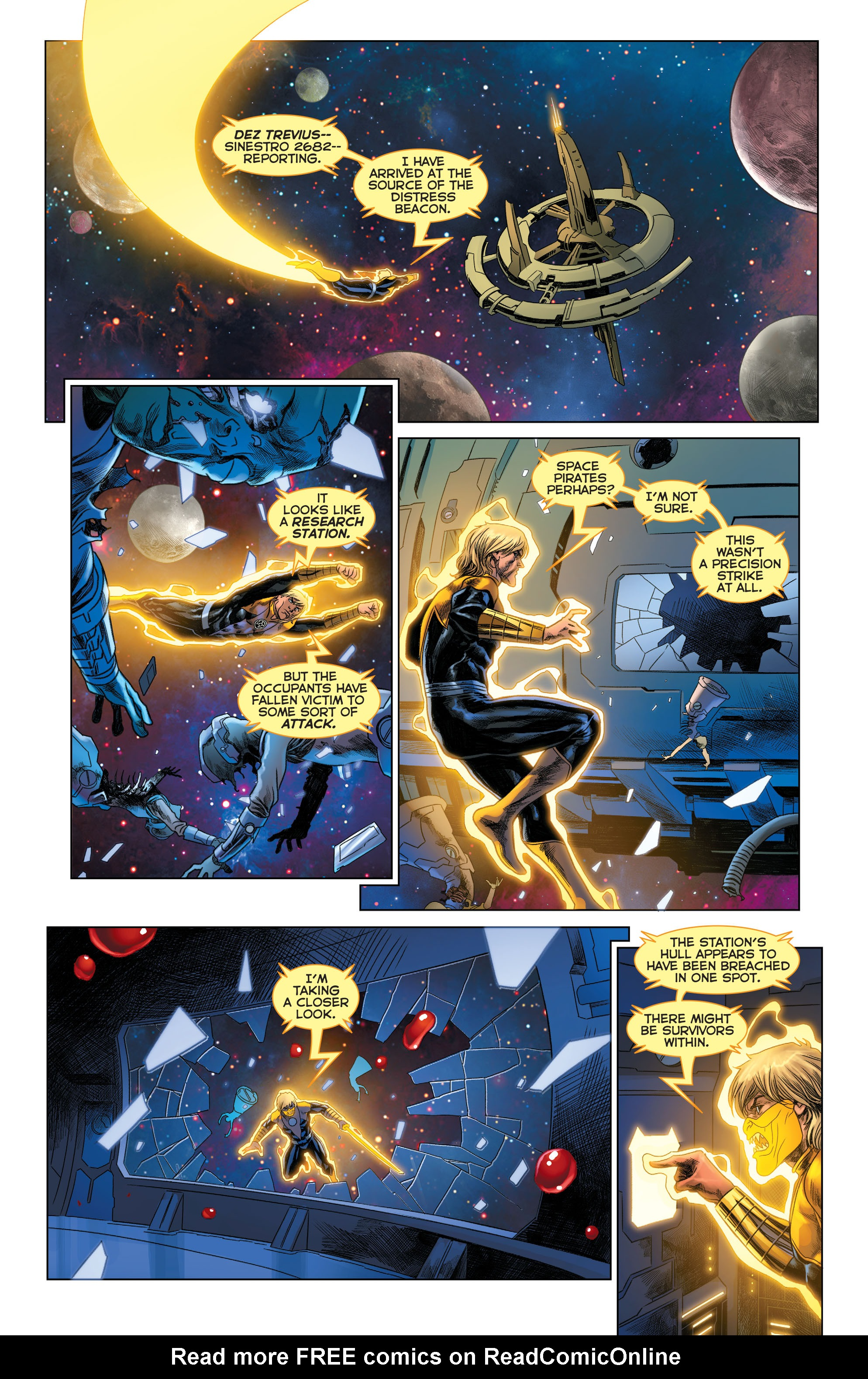 Read online Sinestro comic -  Issue #22 - 20