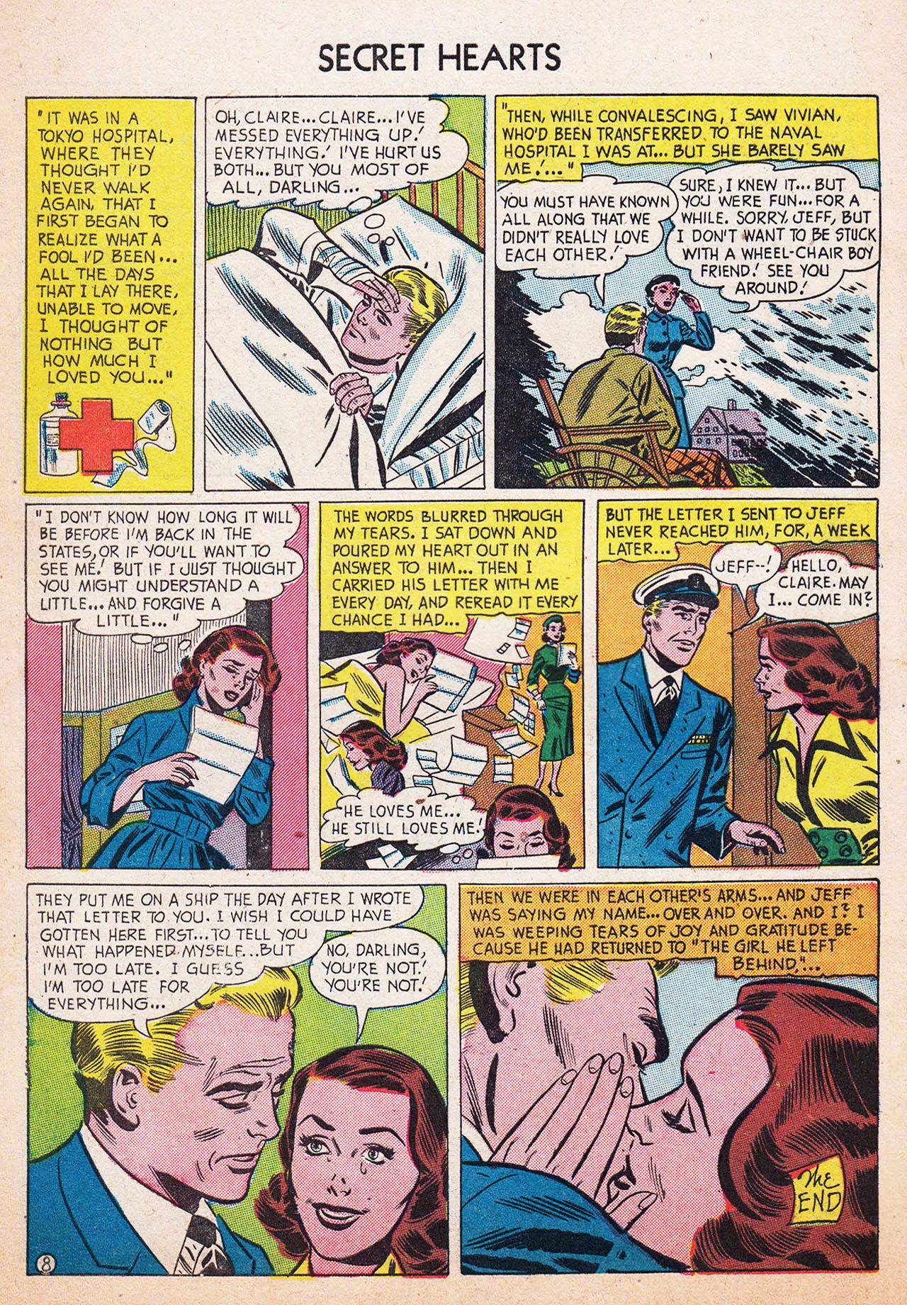Read online Secret Hearts comic -  Issue #13 - 34