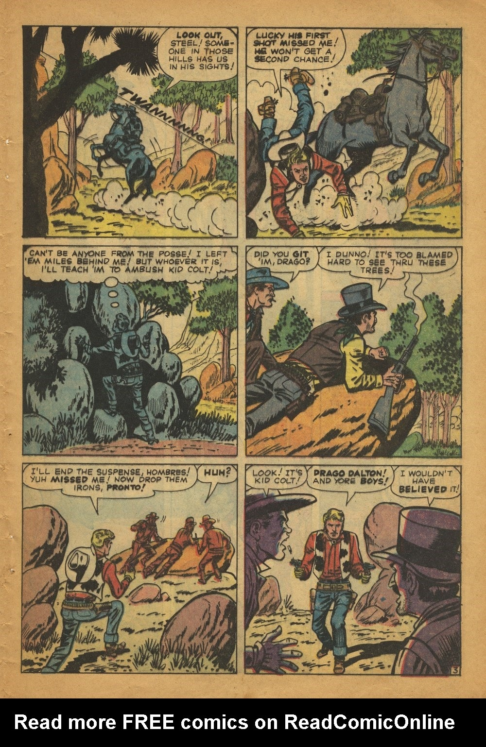 Kid Colt Outlaw issue 97 - Page 5