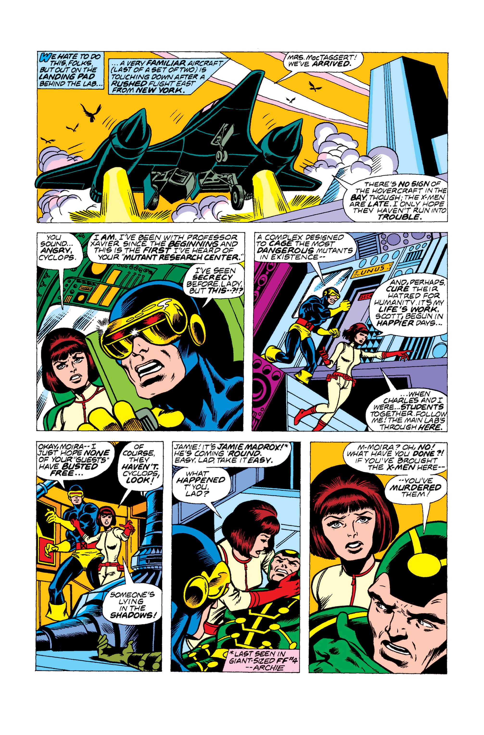Read online Uncanny X-Men (1963) comic -  Issue #104 - 8