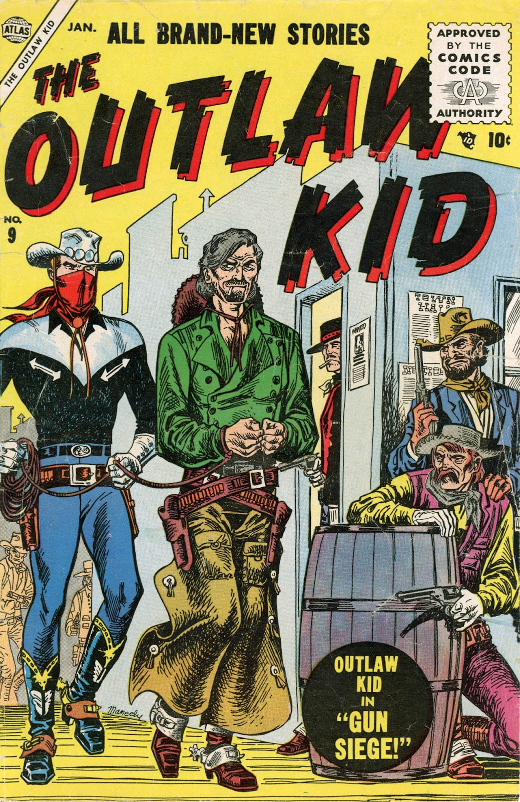 The Outlaw Kid (1954) issue 9 - Page 1