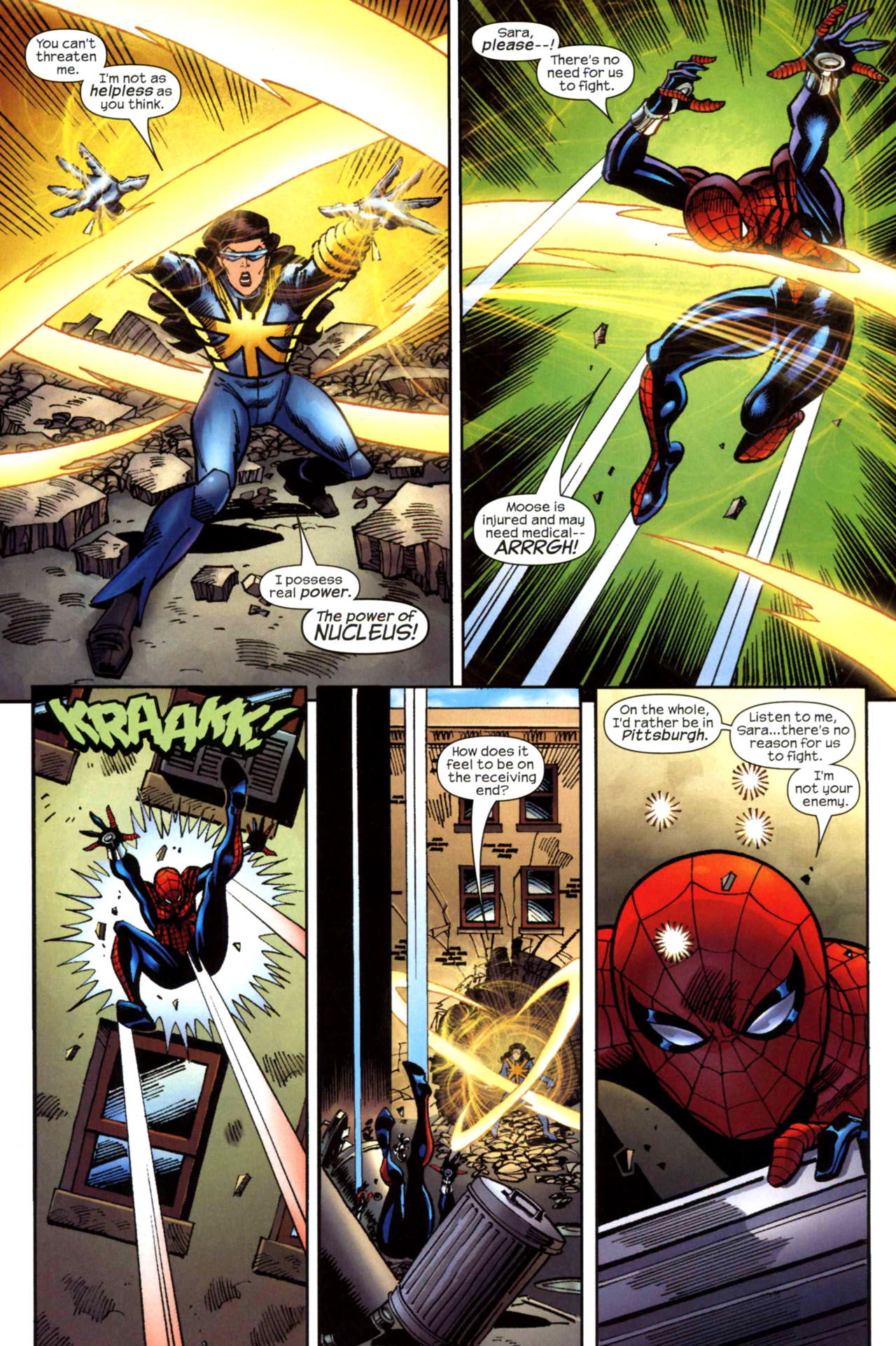 Read online Amazing Spider-Girl comic -  Issue #21 - 17