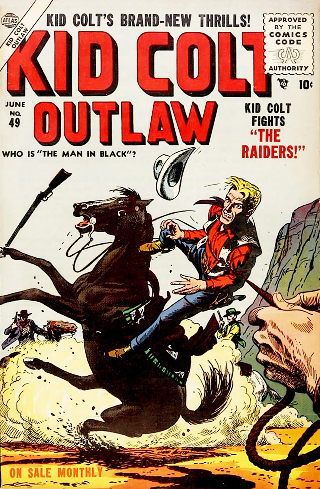Kid Colt Outlaw issue 49 - Page 1