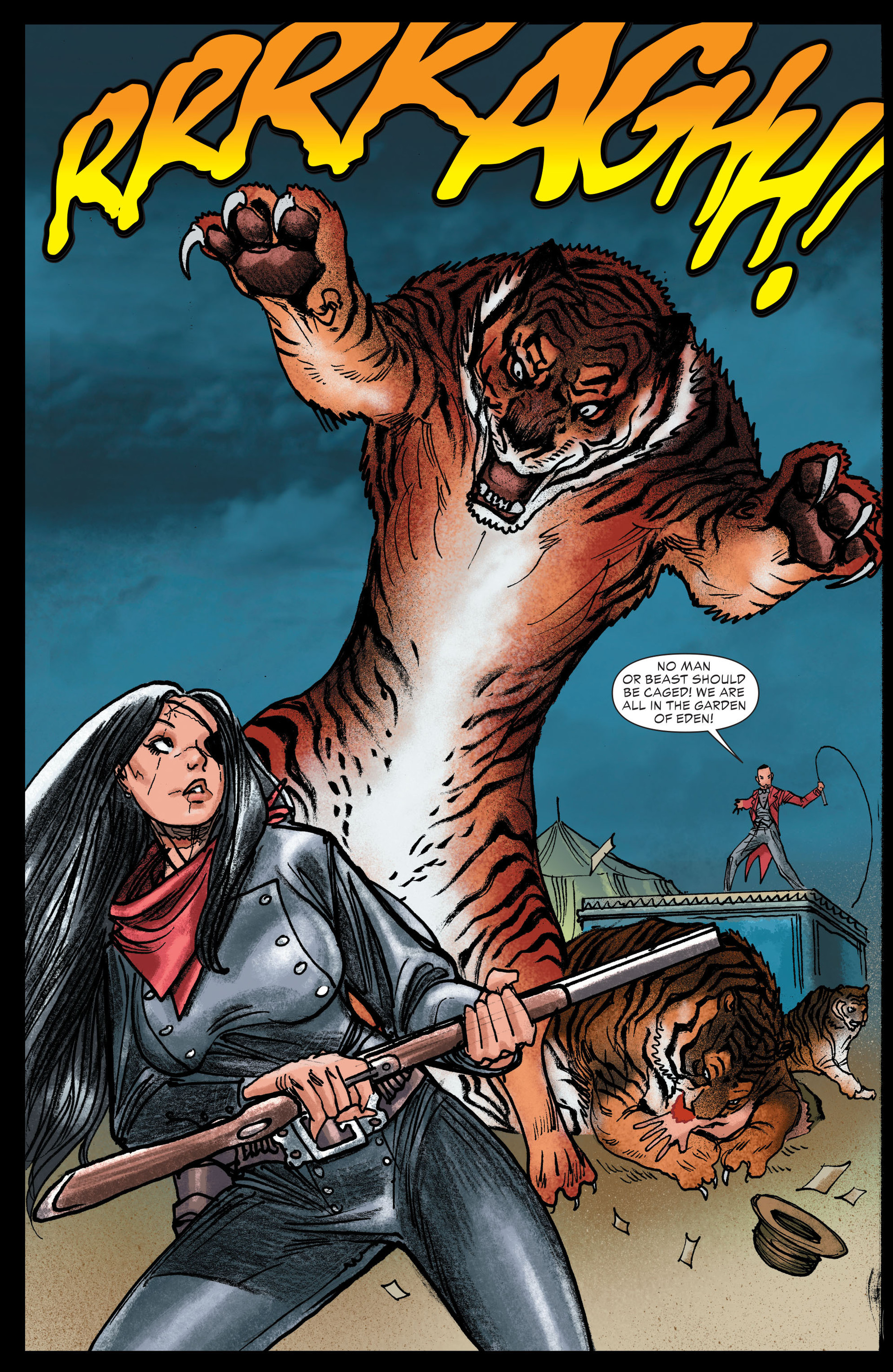 Read online All-Star Western (2011) comic -  Issue #13 - 16