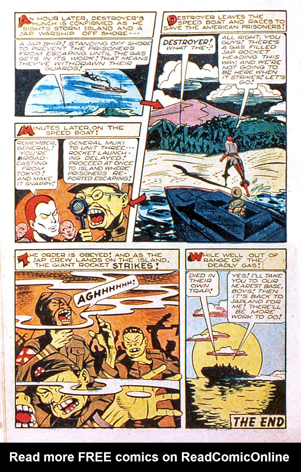 Read online Mystic Comics (1944) comic -  Issue #2 - 34