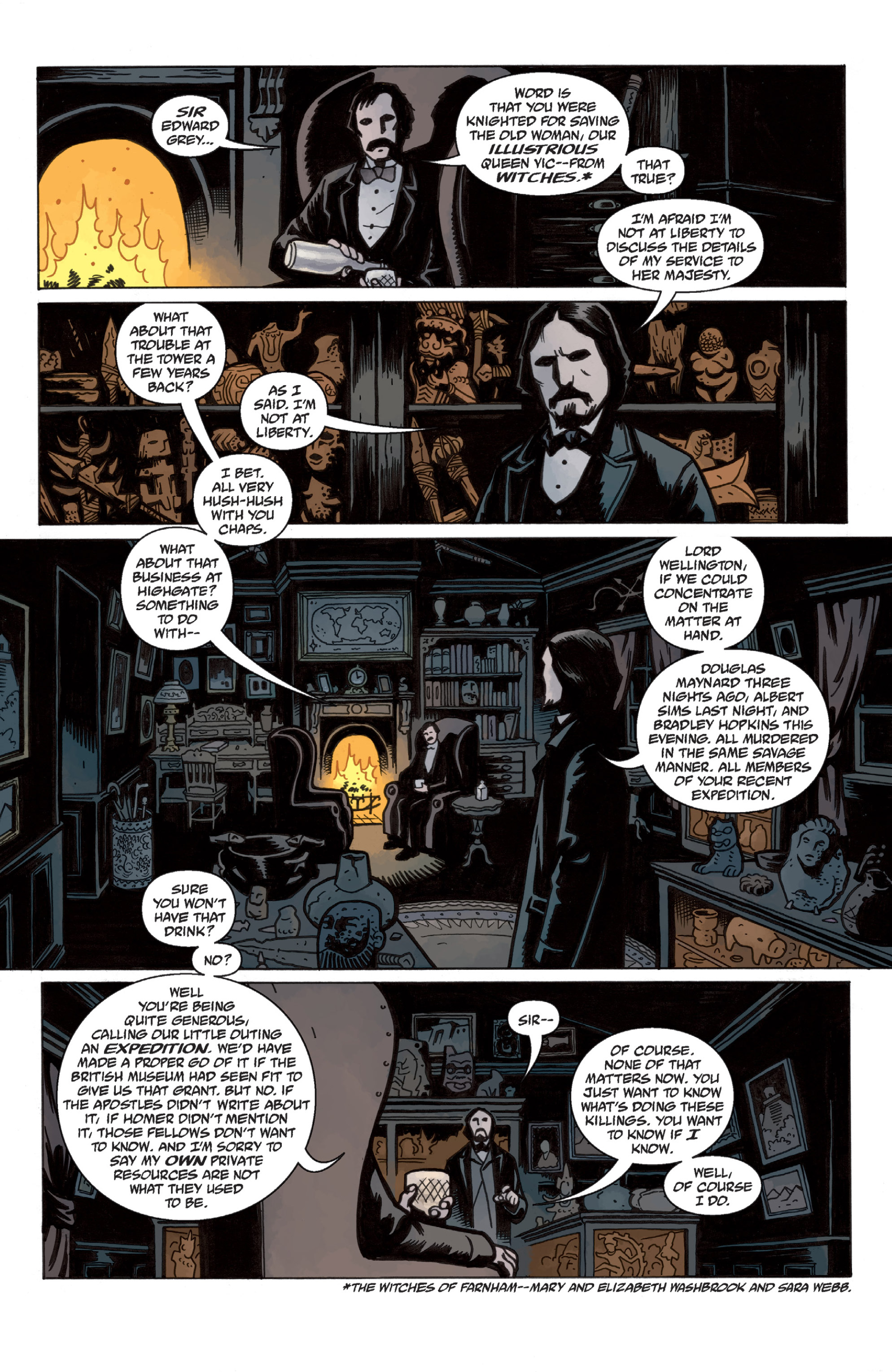 Read online Sir Edward Grey, Witchfinder: In the Service of Angels comic -  Issue # TPB - 11