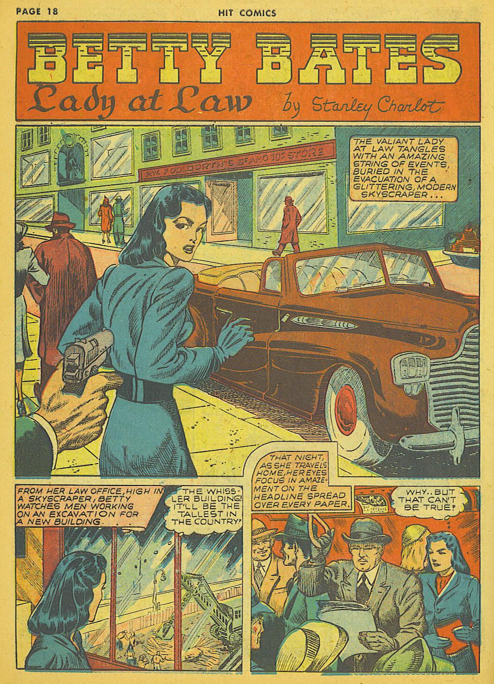 Read online Hit Comics comic -  Issue #21 - 20
