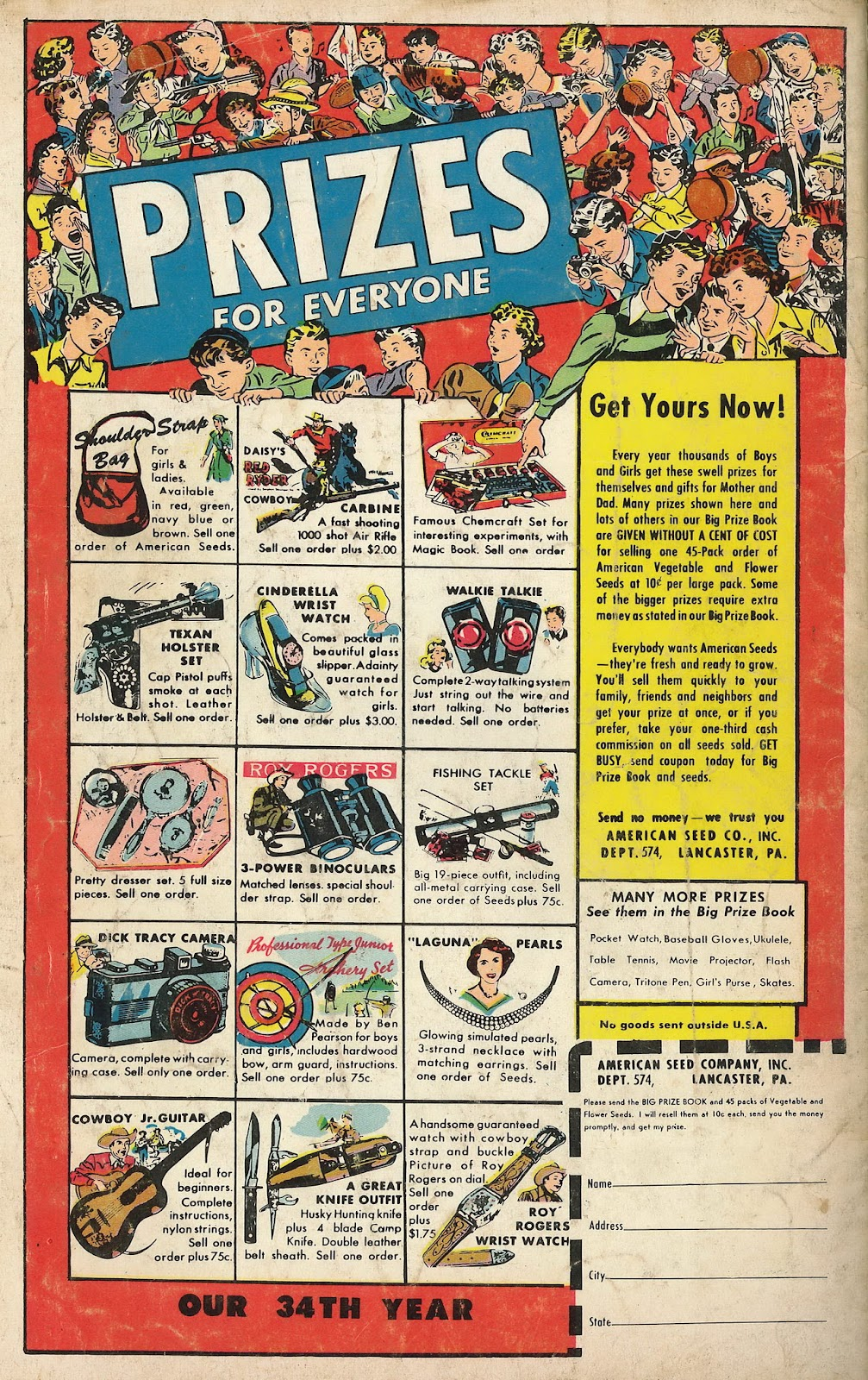 Read online Famous Funnies comic -  Issue #199 - 36