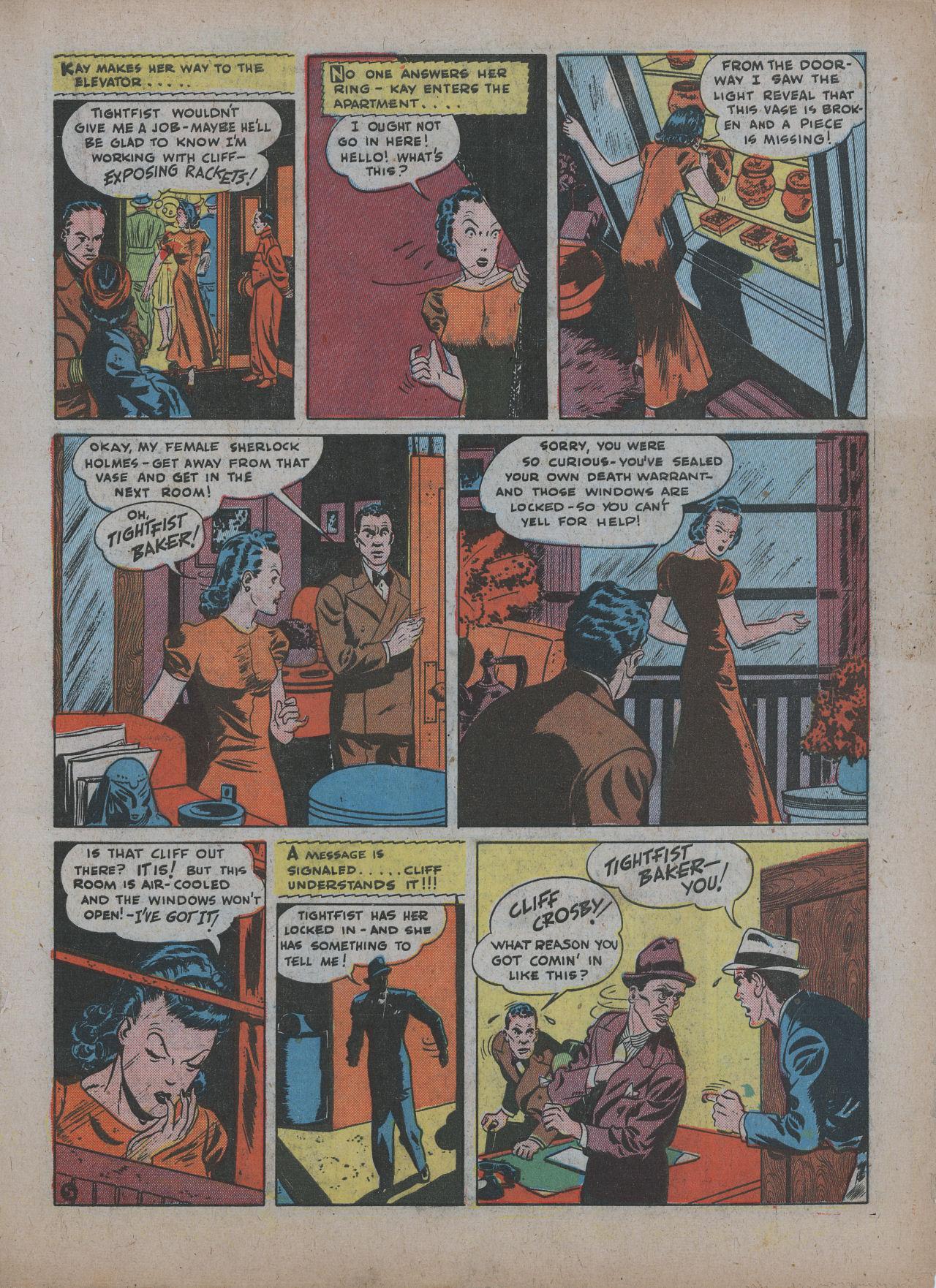 Read online Detective Comics (1937) comic -  Issue #48 - 35