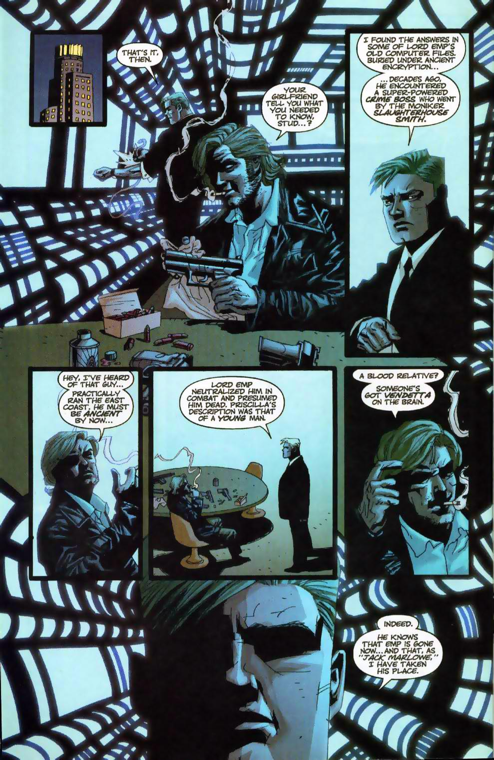 Wildcats (1999) Issue #18 #19 - English 3