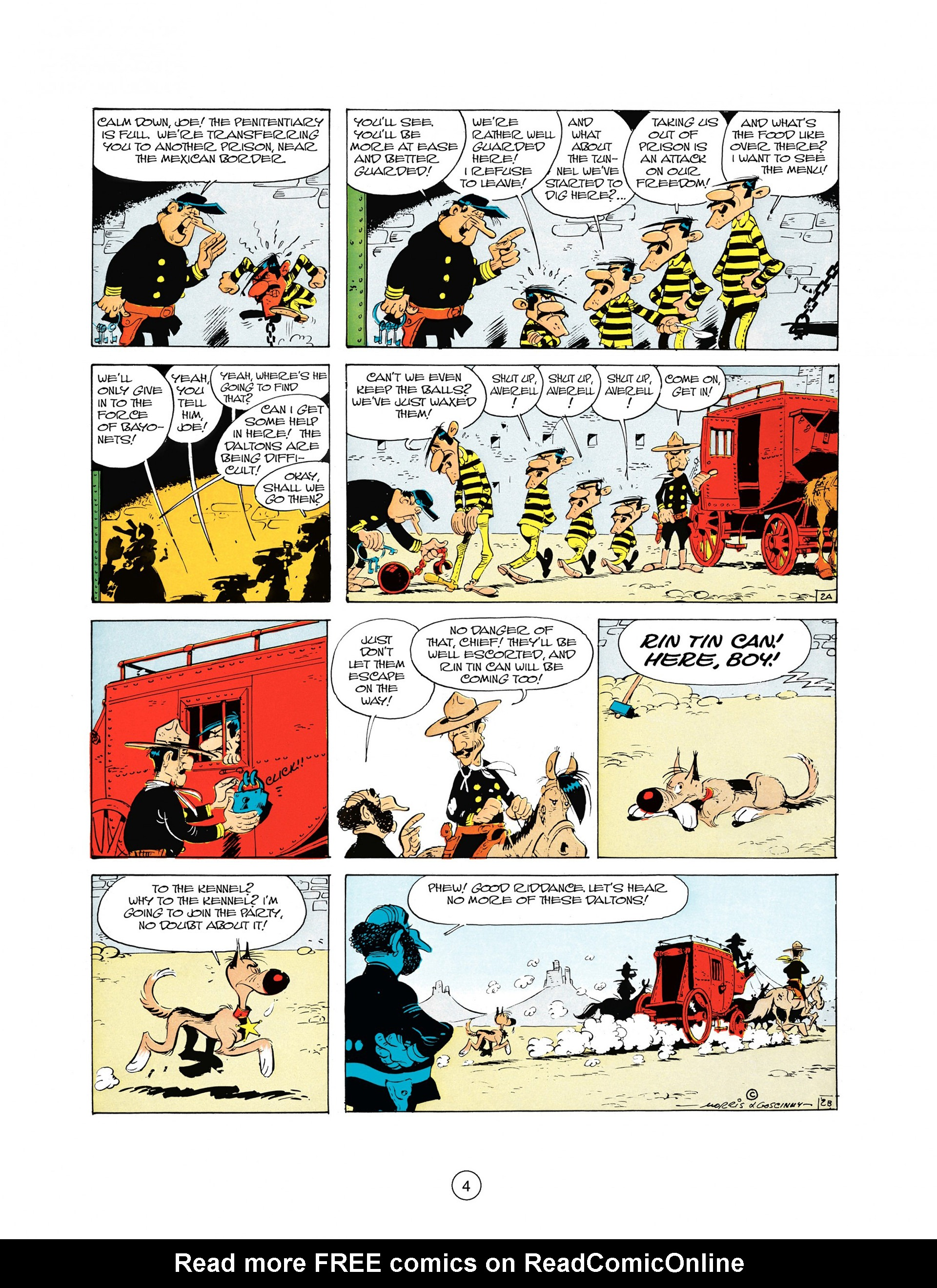 Read online A Lucky Luke Adventure comic -  Issue #10 - 4
