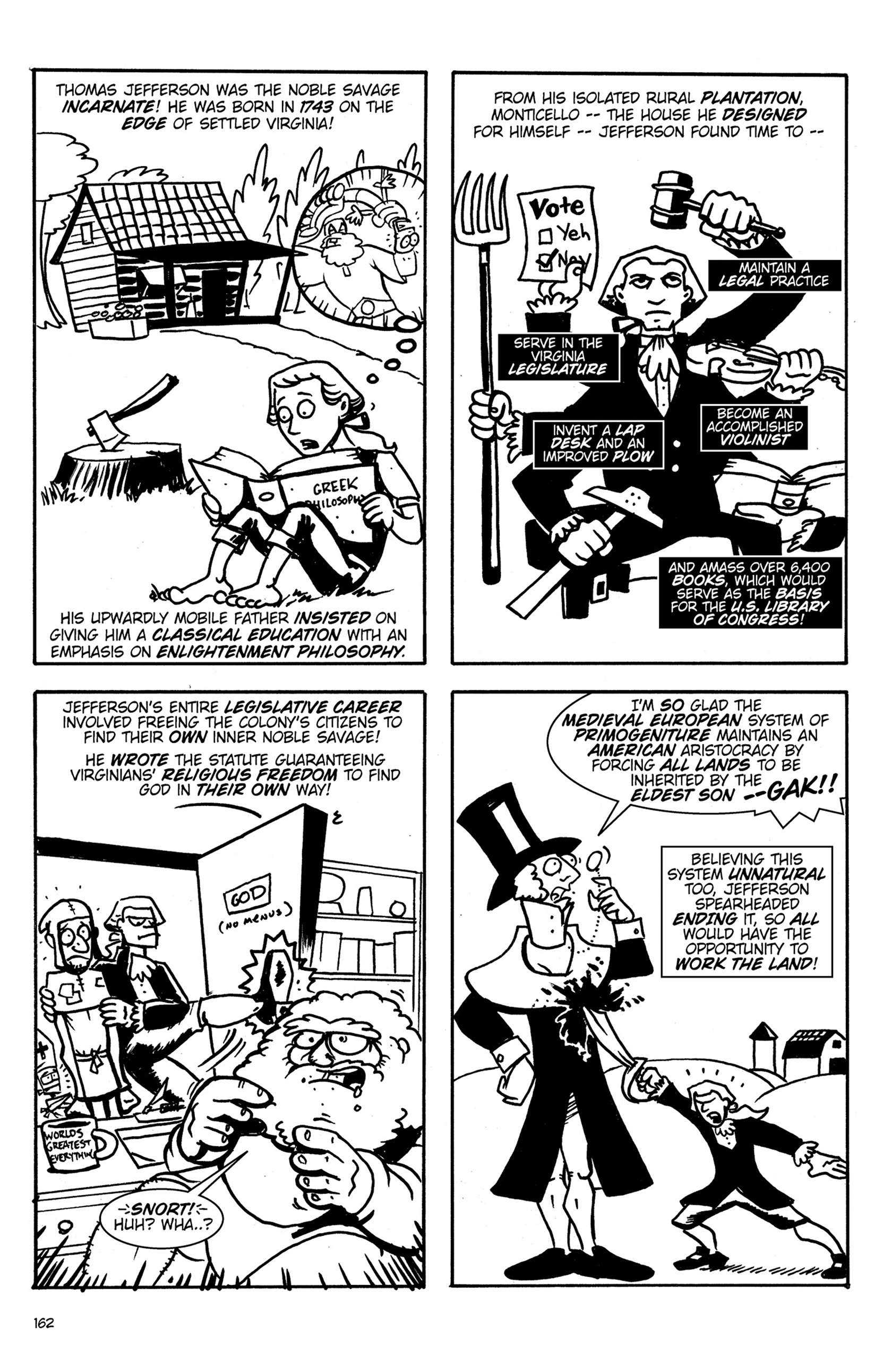 Read online Action Philosophers! comic -  Issue #Action Philosophers! TPB (Part 1) - 160