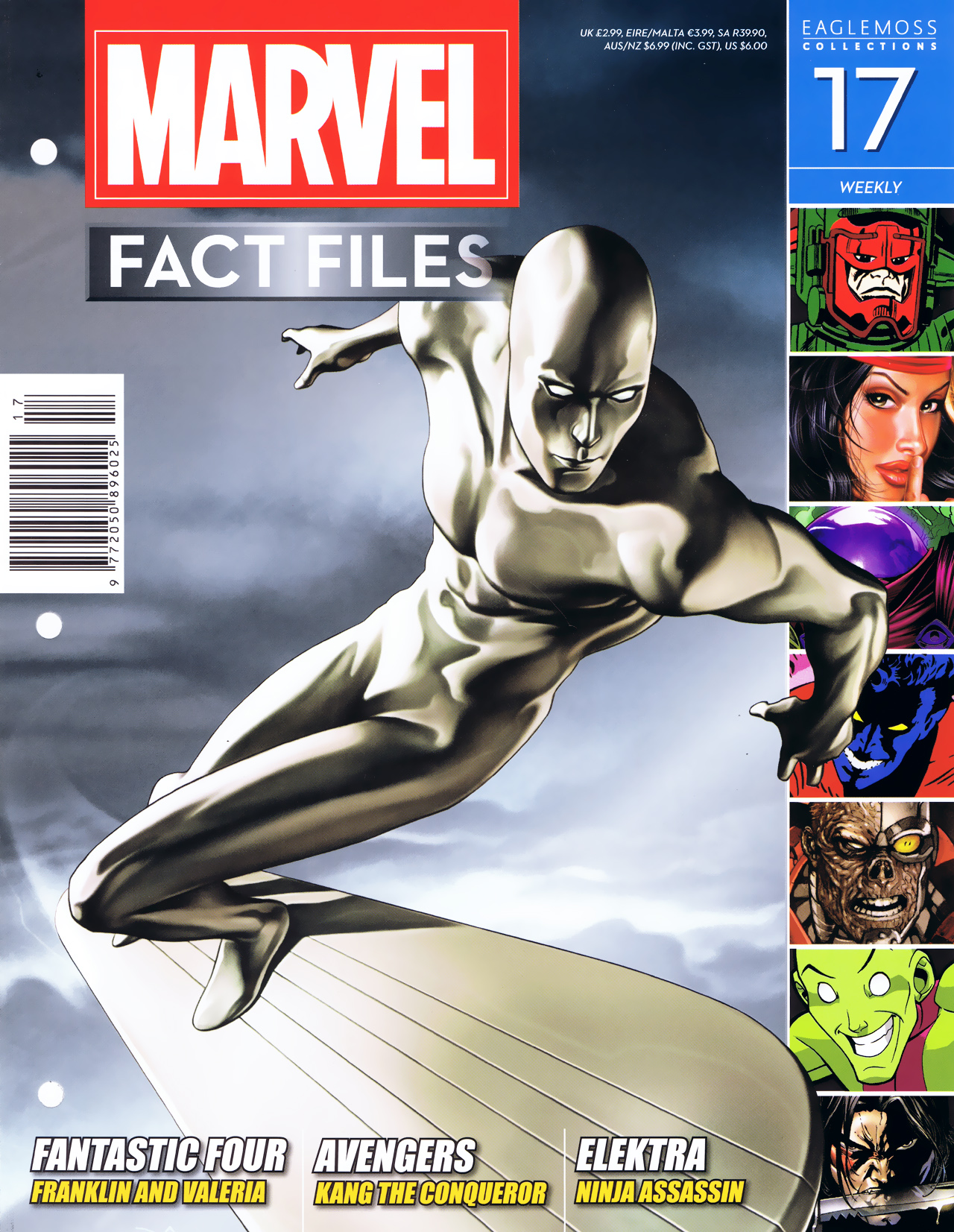 Marvel Fact Files 17 Page 1