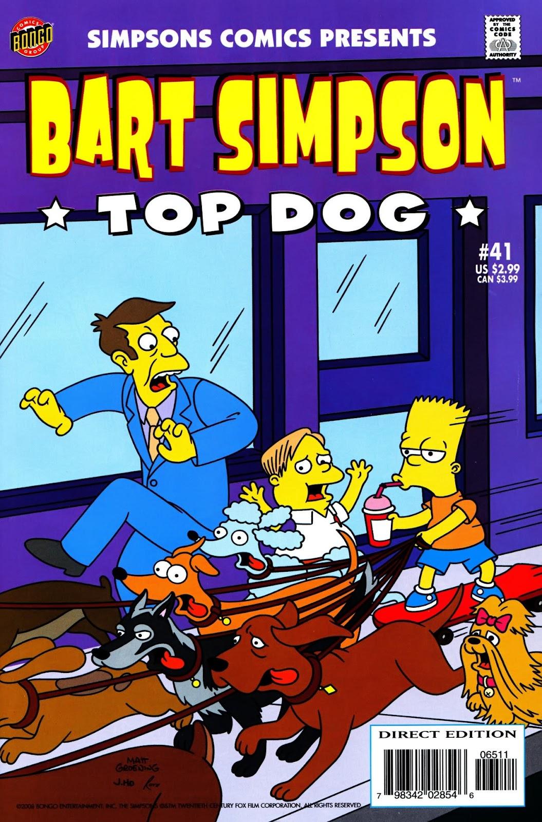 Simpsons Comics Presents Bart Simpson 41 Page 1