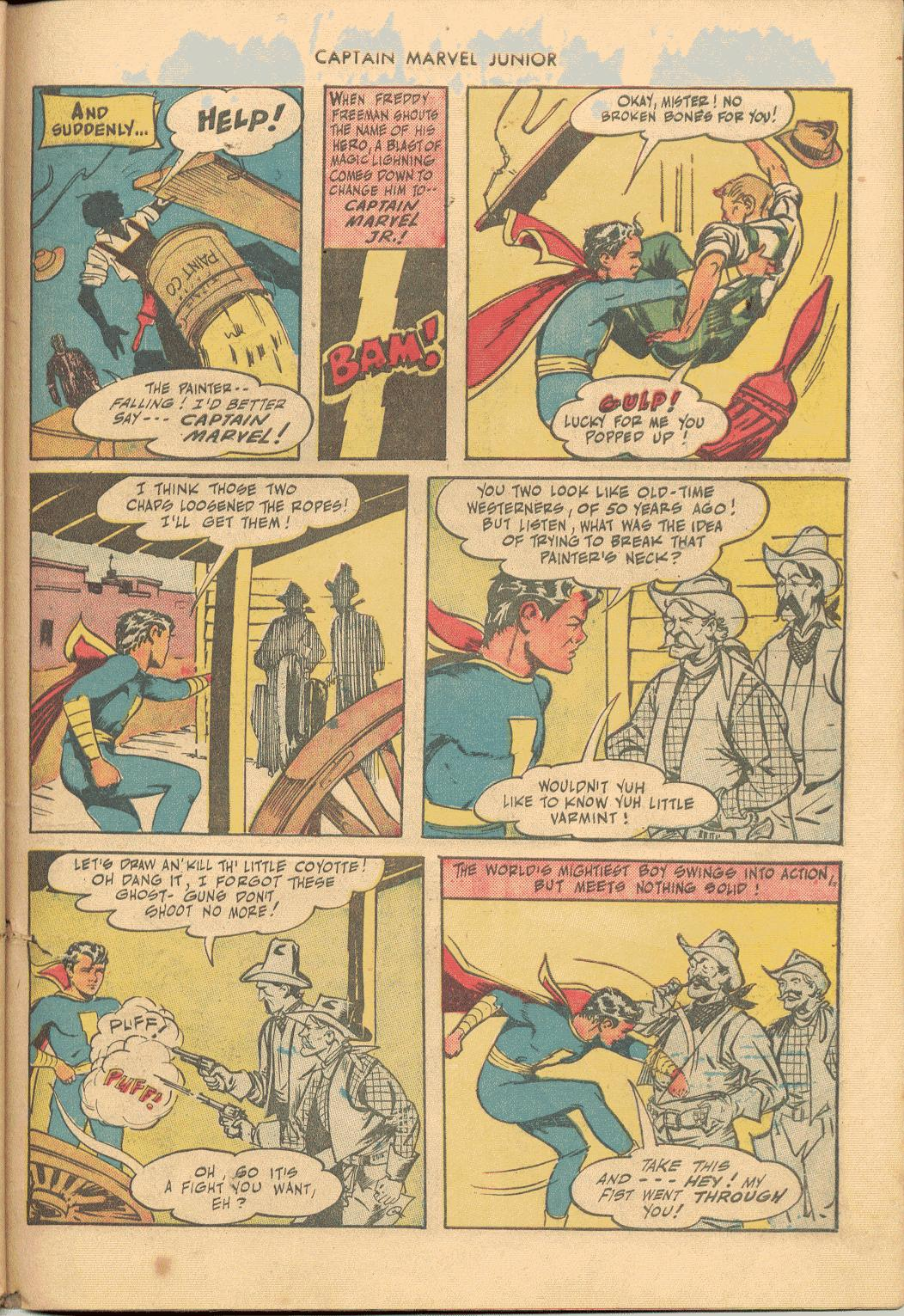 Captain Marvel, Jr. issue 38 - Page 40