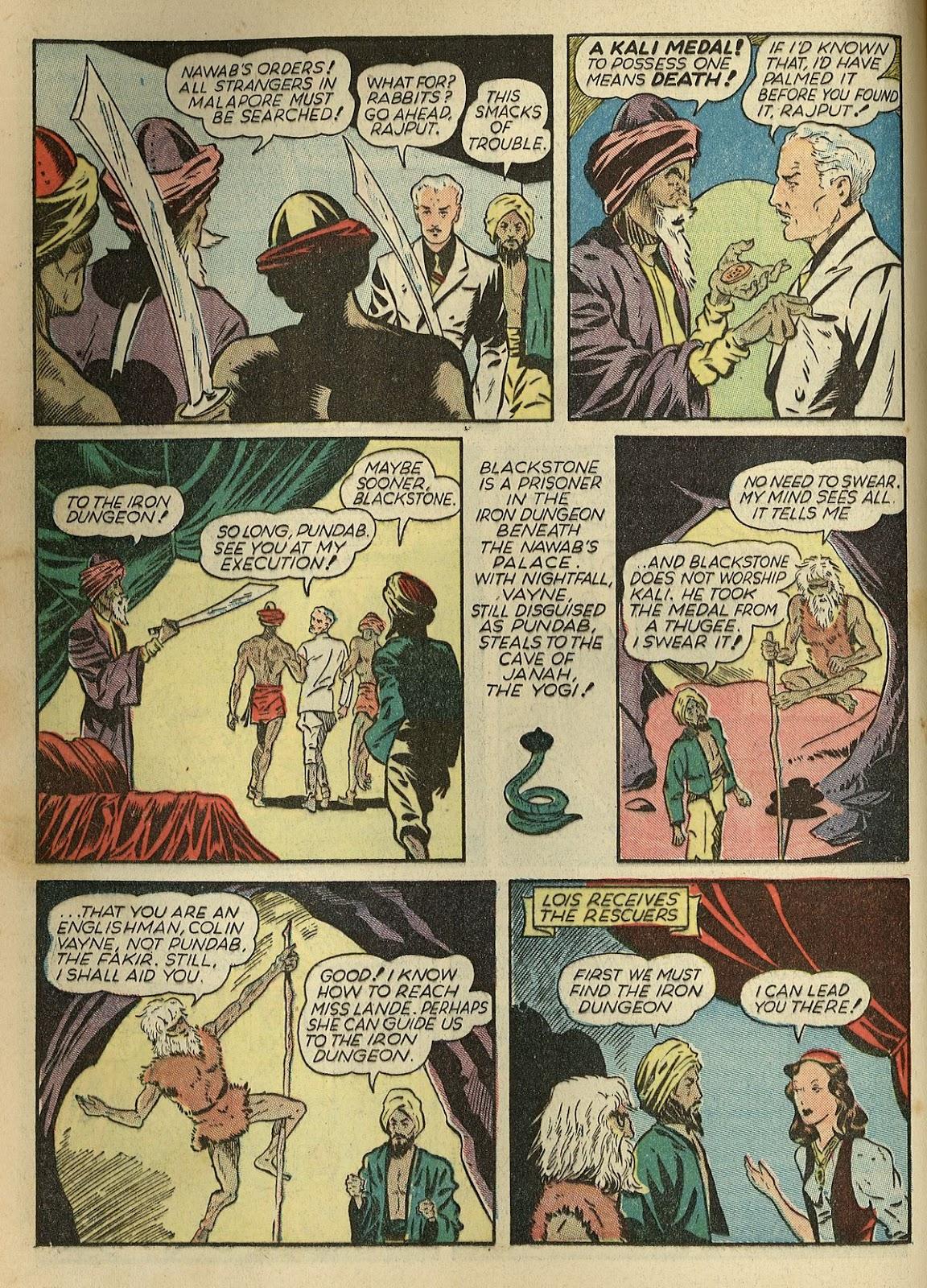 Read online Super-Magician Comics comic -  Issue #1 - 22