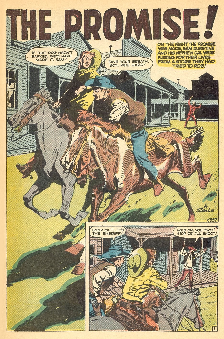 Kid Colt Outlaw issue 140 - Page 23