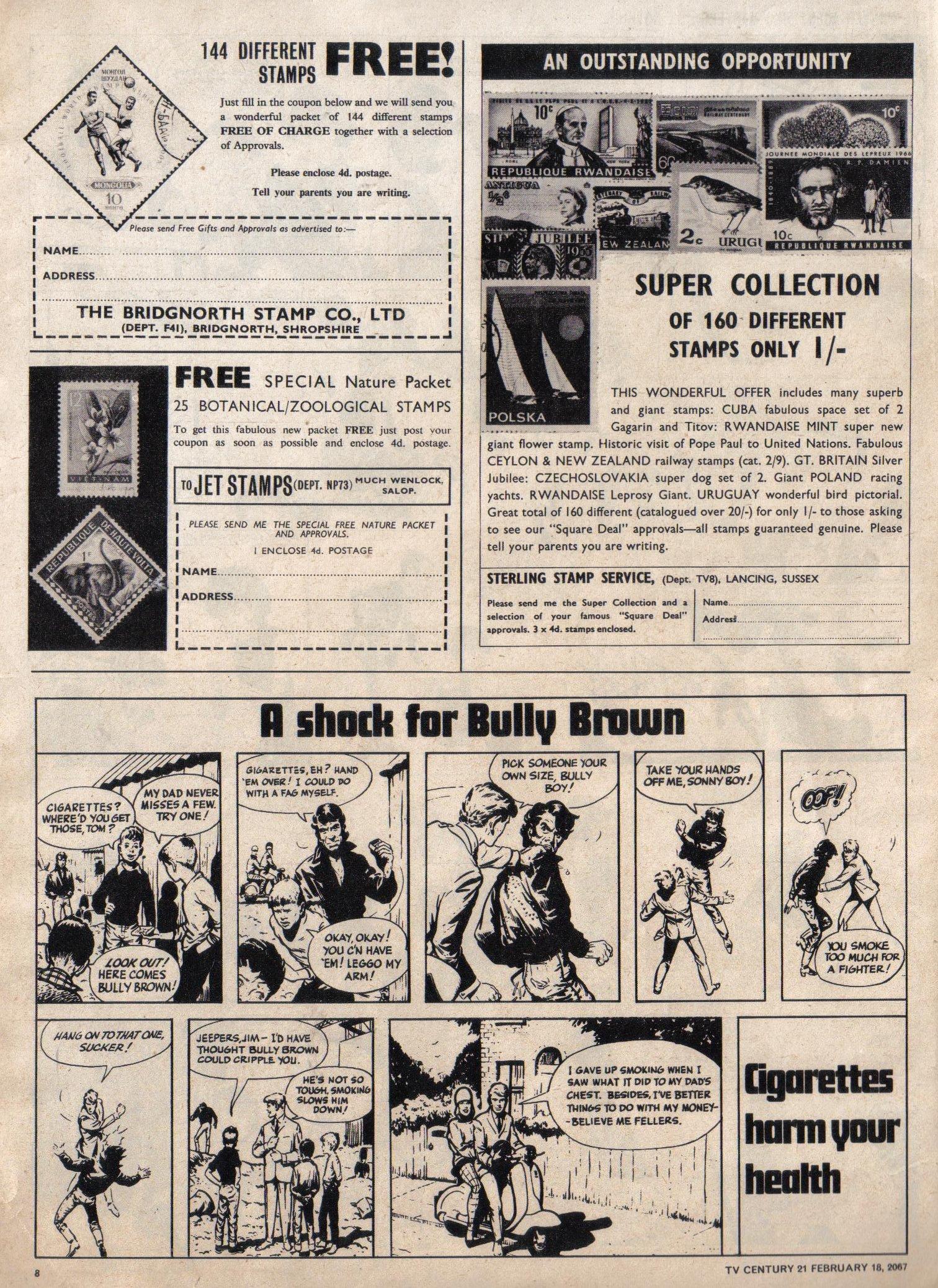 Read online TV Century 21 (TV 21) comic -  Issue #109 - 8