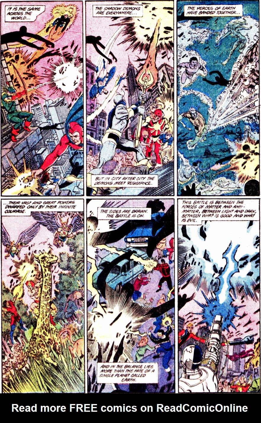 Crisis on Infinite Earths (1985) 12 Page 10