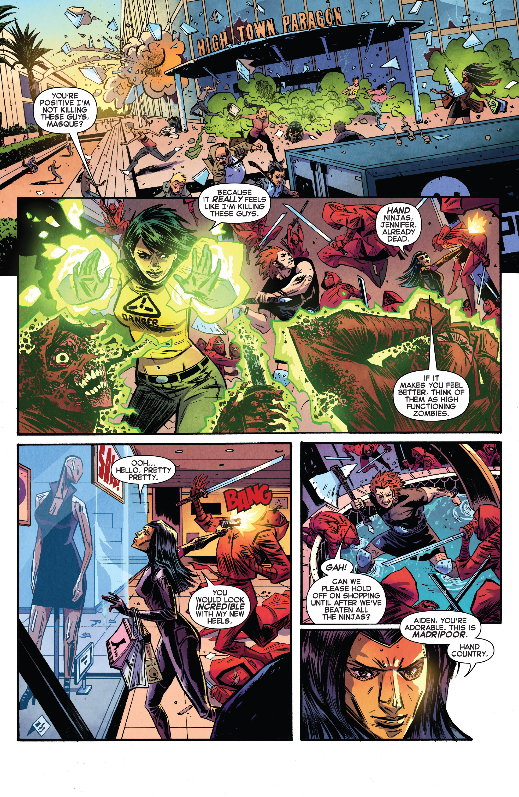 Read online Avengers Undercover comic -  Issue #8 - 5
