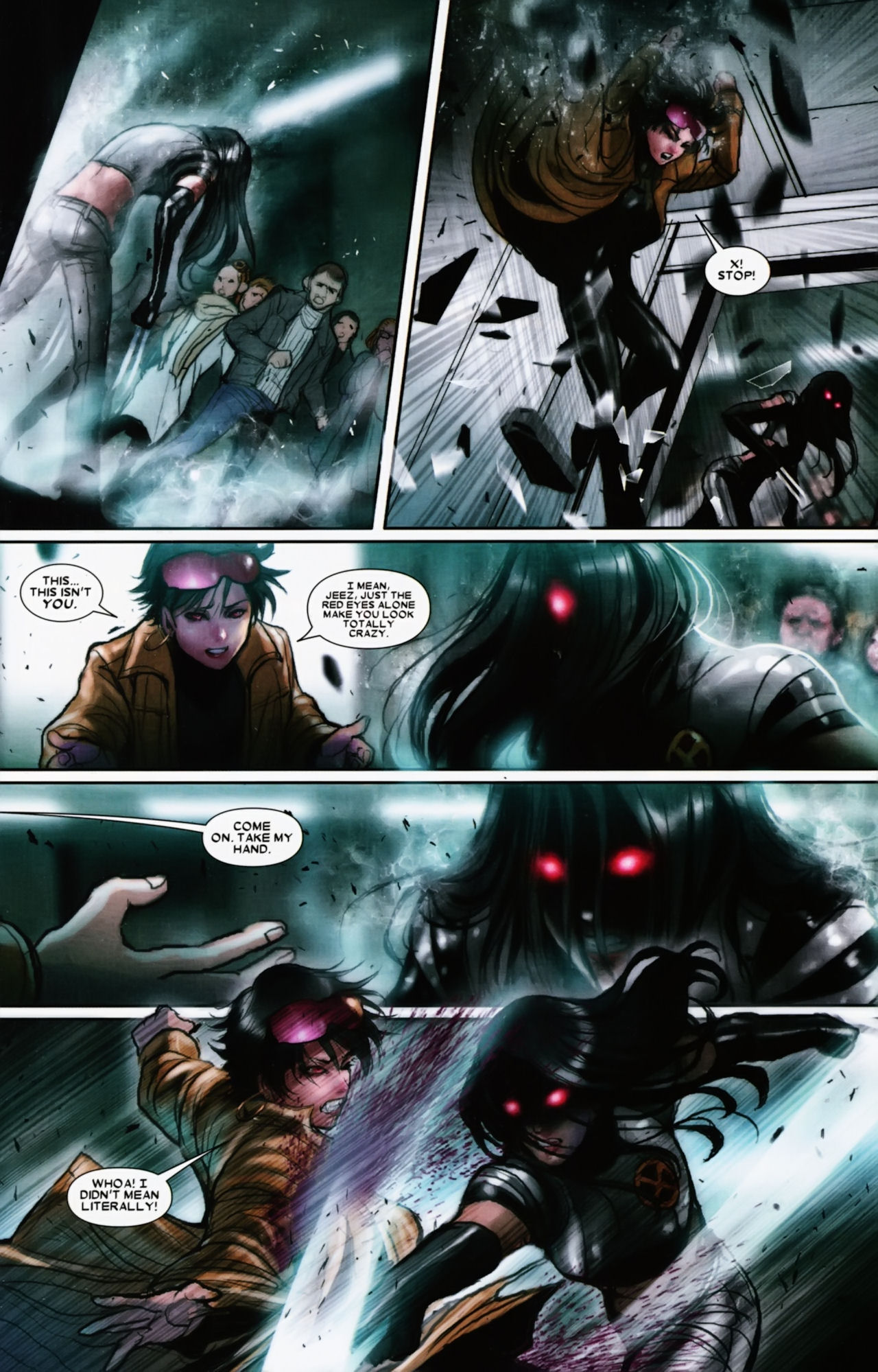 Read online X-23 (2010) comic -  Issue #11 - 21