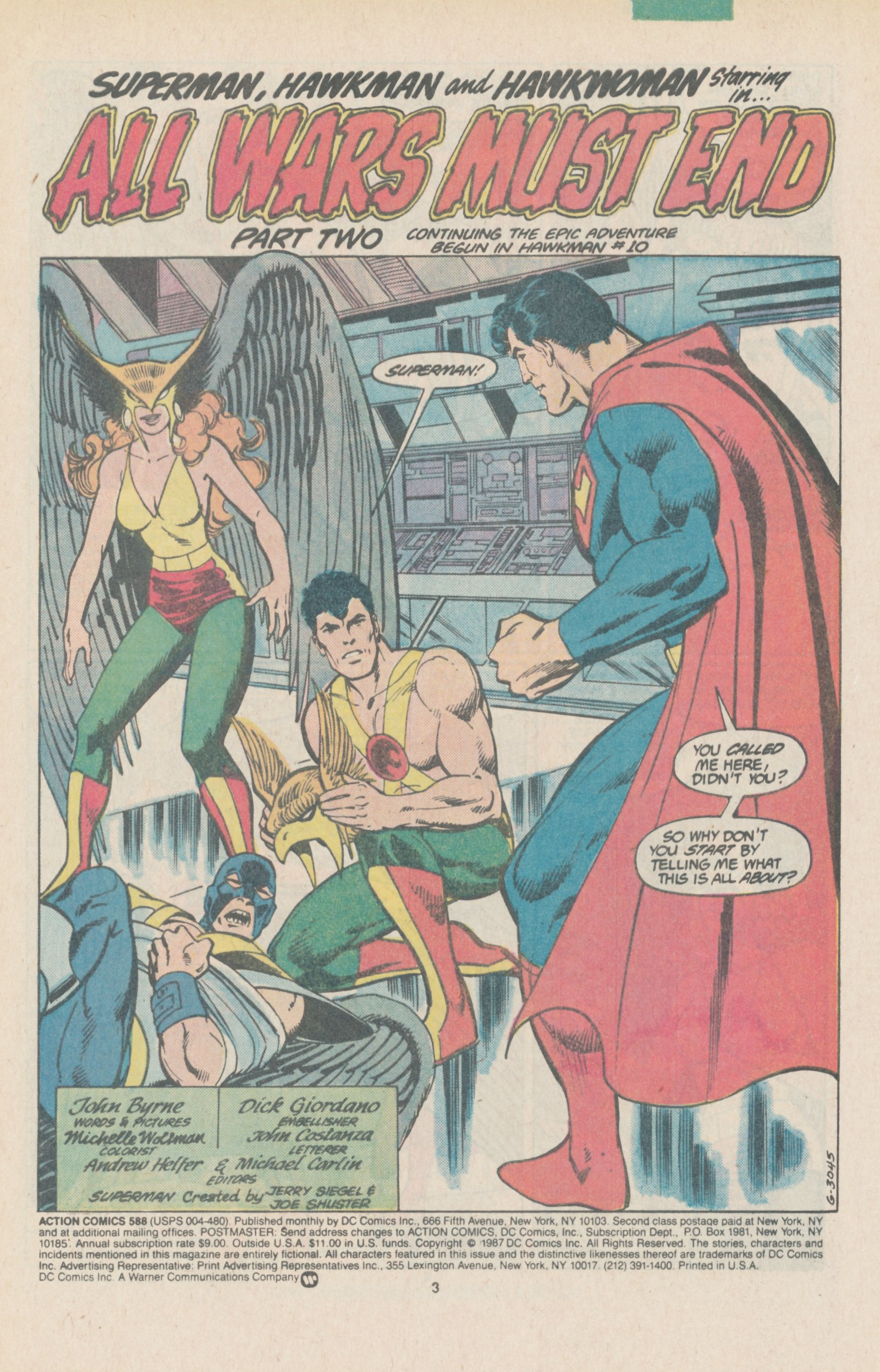 Read online Action Comics (1938) comic -  Issue #588 - 5