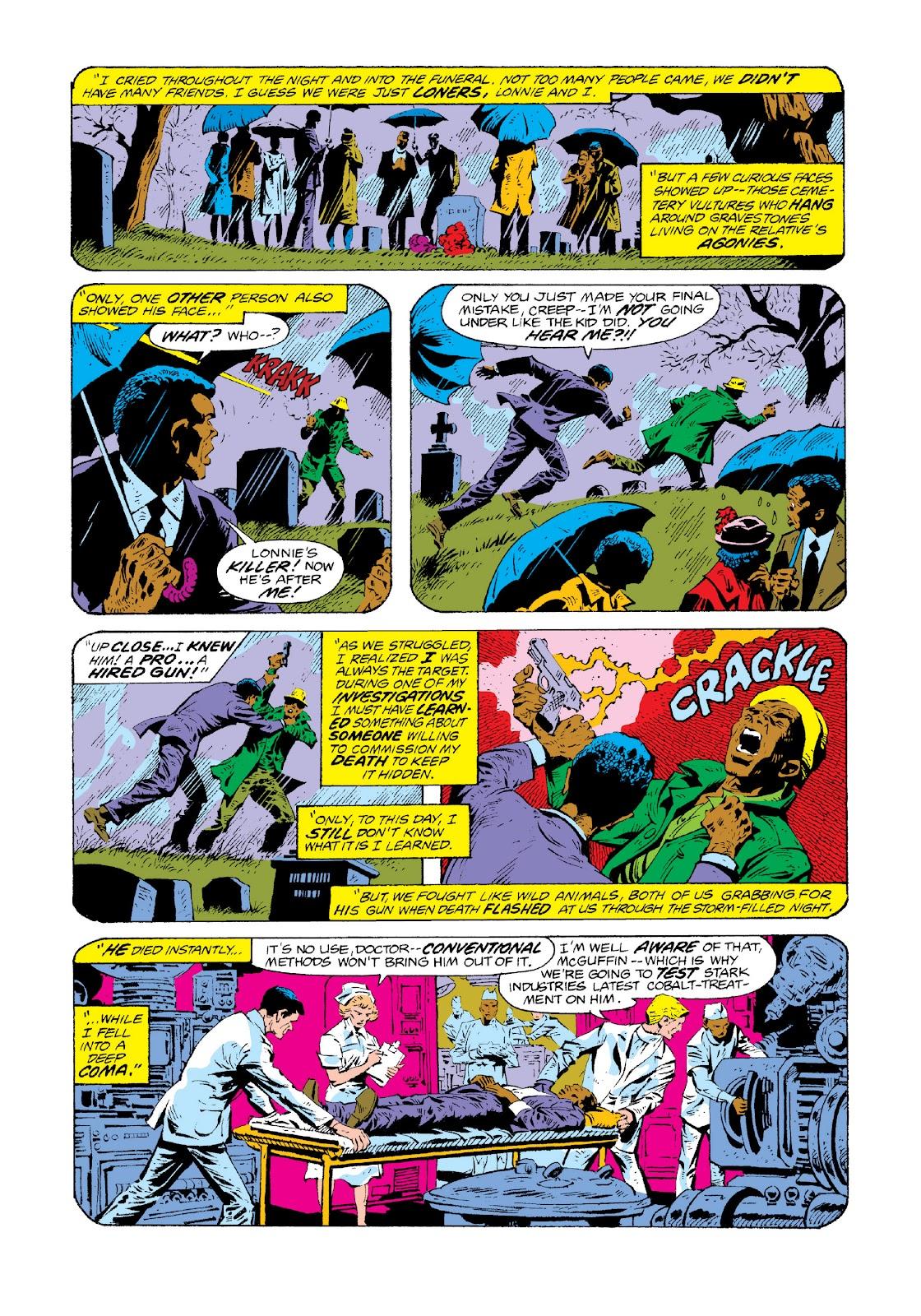 Read online Marvel Masterworks: Luke Cage, Power Man comic -  Issue # TPB 3 (Part 3) - 14
