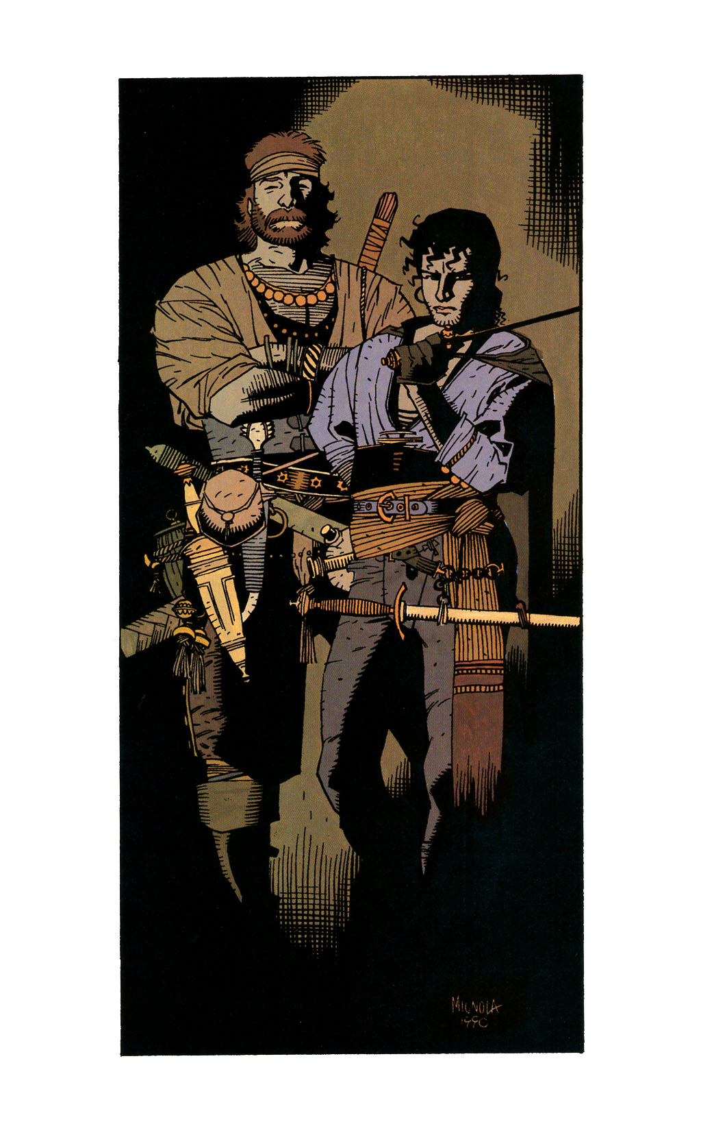 Read online Fafhrd and the Gray Mouser comic -  Issue #1 - 50