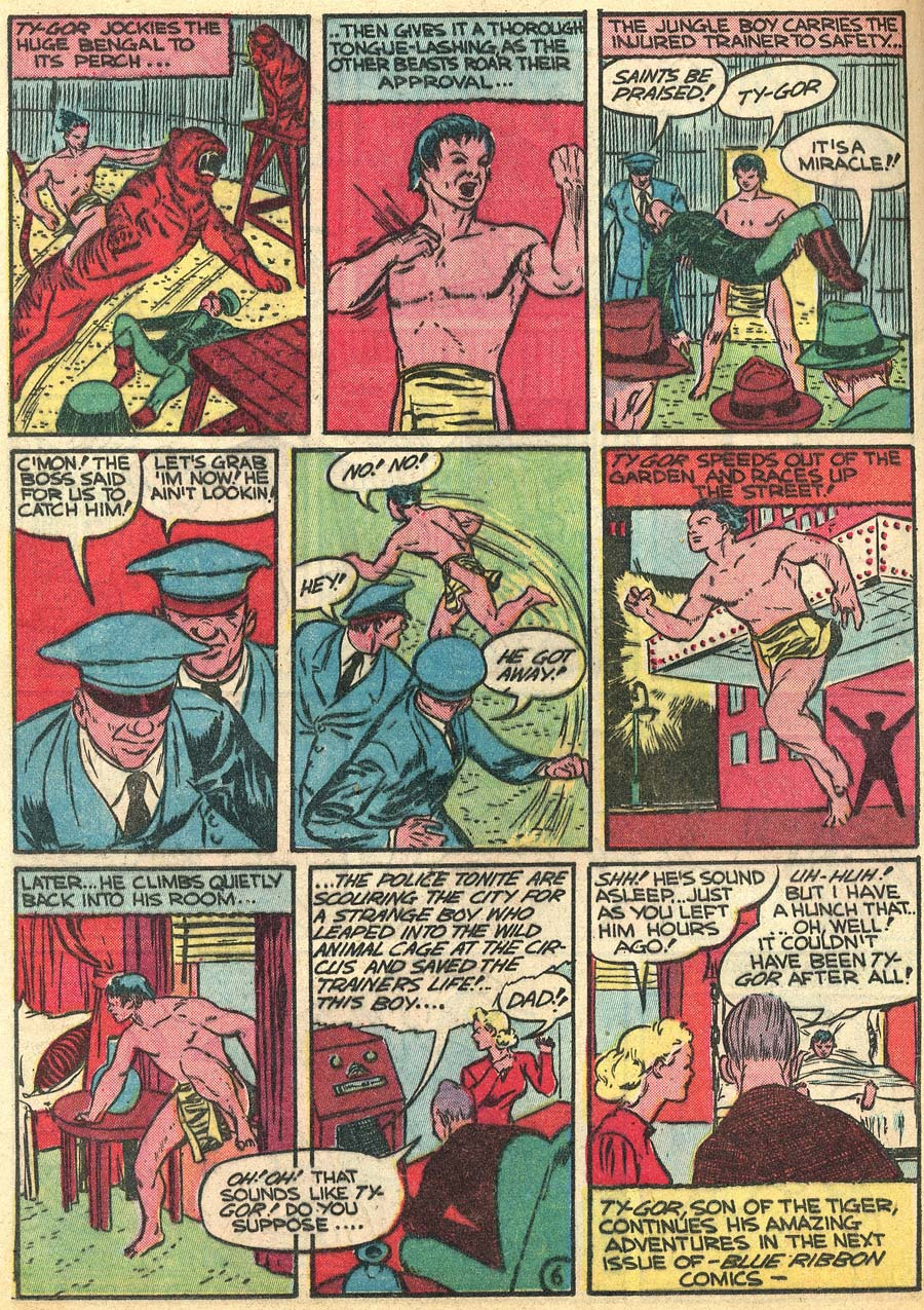 Blue Ribbon Comics (1939) issue 9 - Page 48