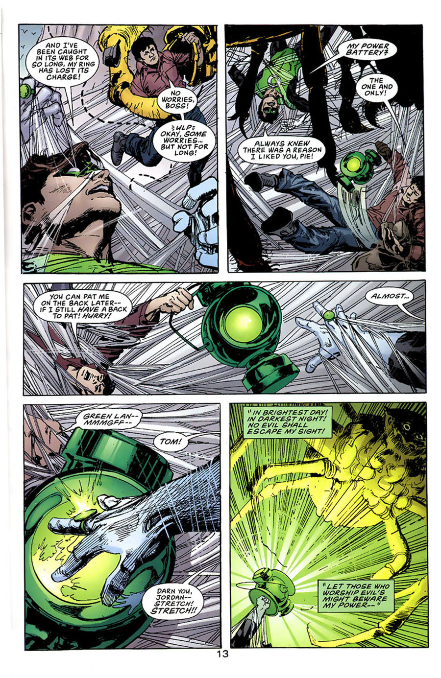 Read online Green Lantern: Legacy: The Last Will and Testament of Hal Jordan comic -  Issue # TPB - 18