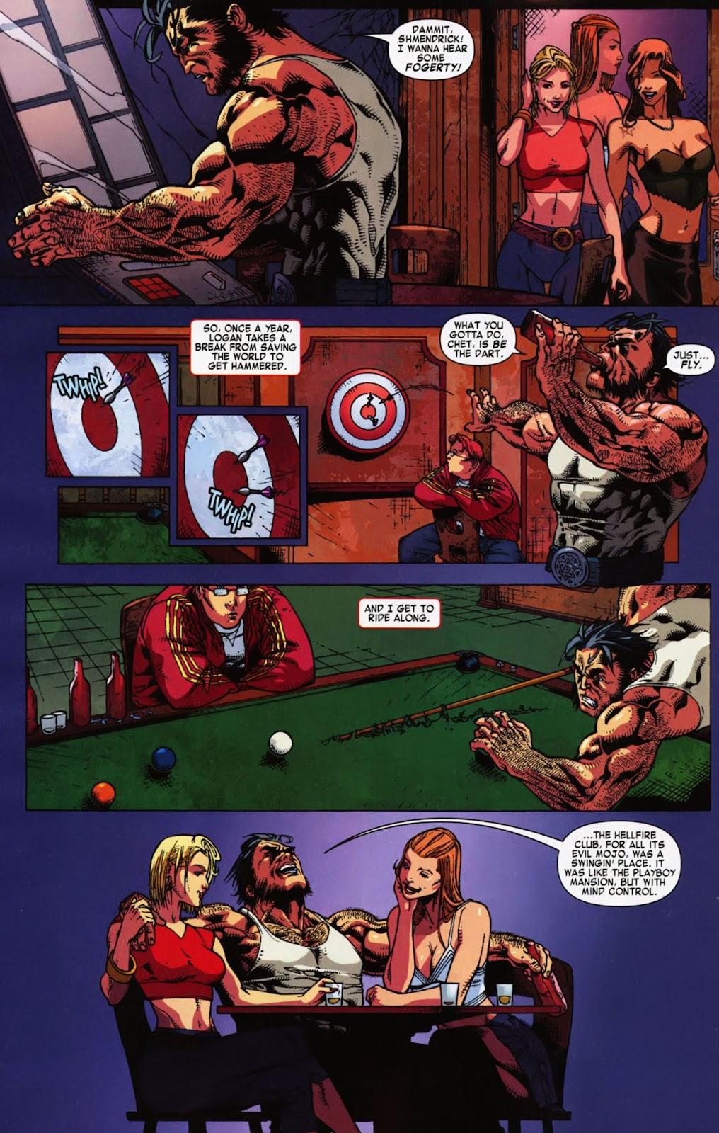Read online Wolverine (2003) comic -  Issue #900 - 49