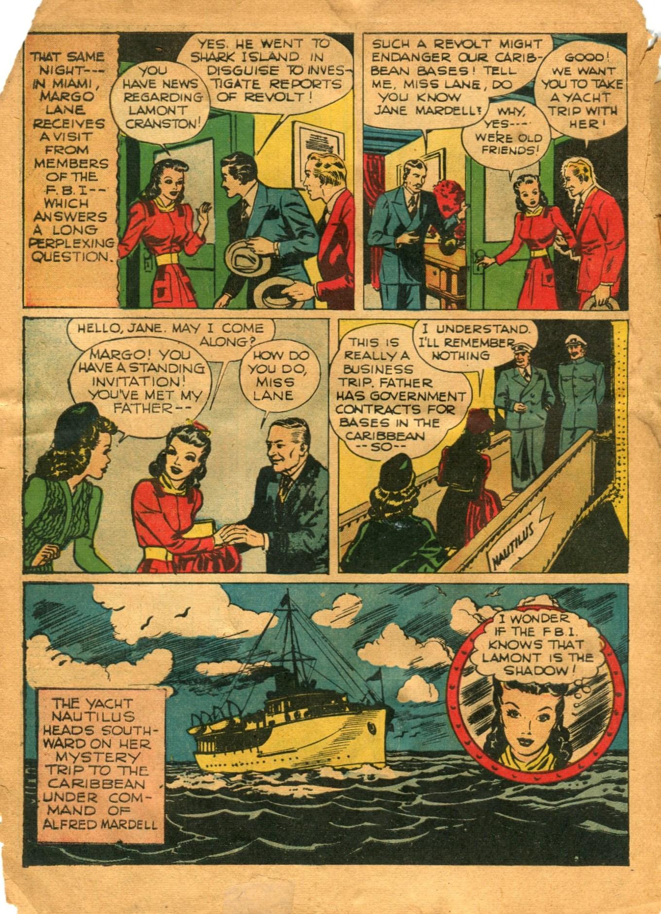 Read online Shadow Comics comic -  Issue #12 - 8