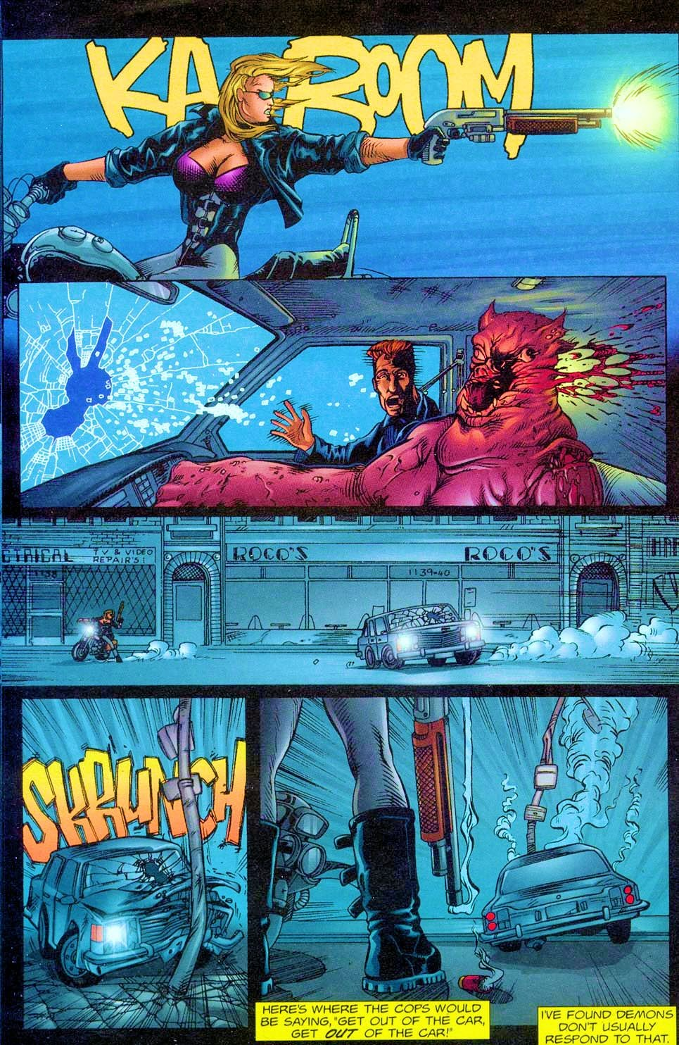 Shotgun Mary: Blood Lore issue 1 - Page 14