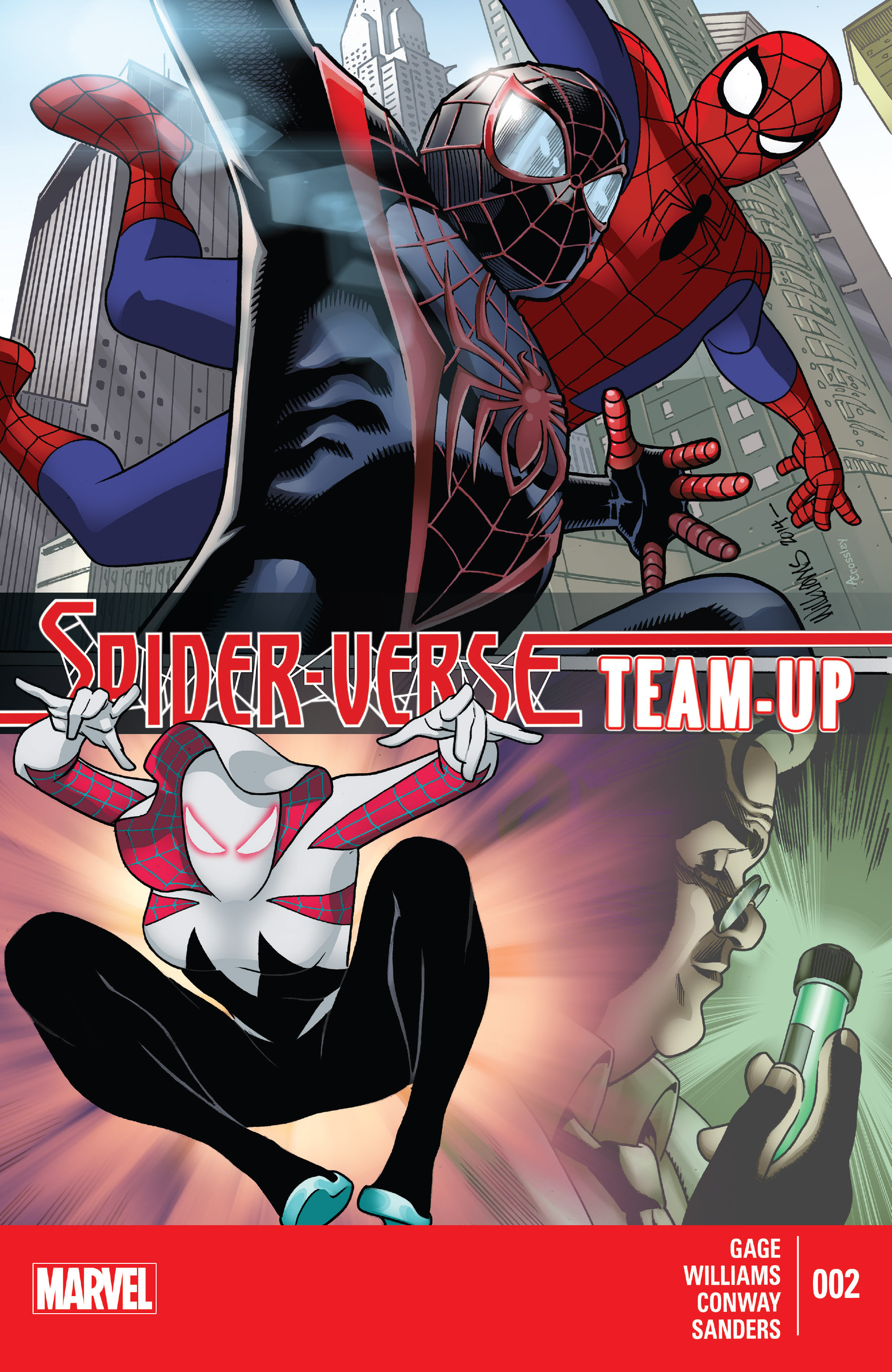 Spider-Verse Team-Up 2 Page 1