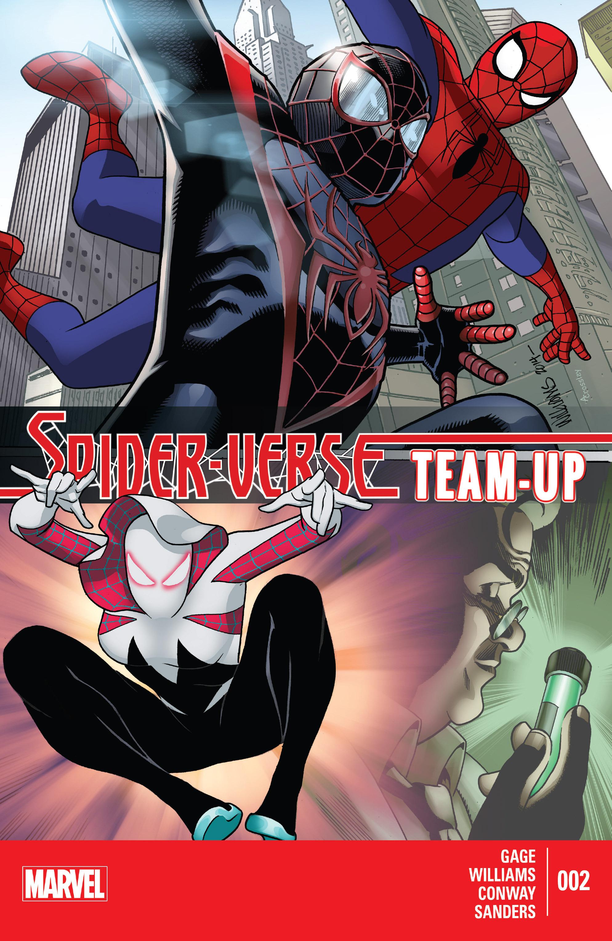Spider-Verse Team-Up 2 Page 1