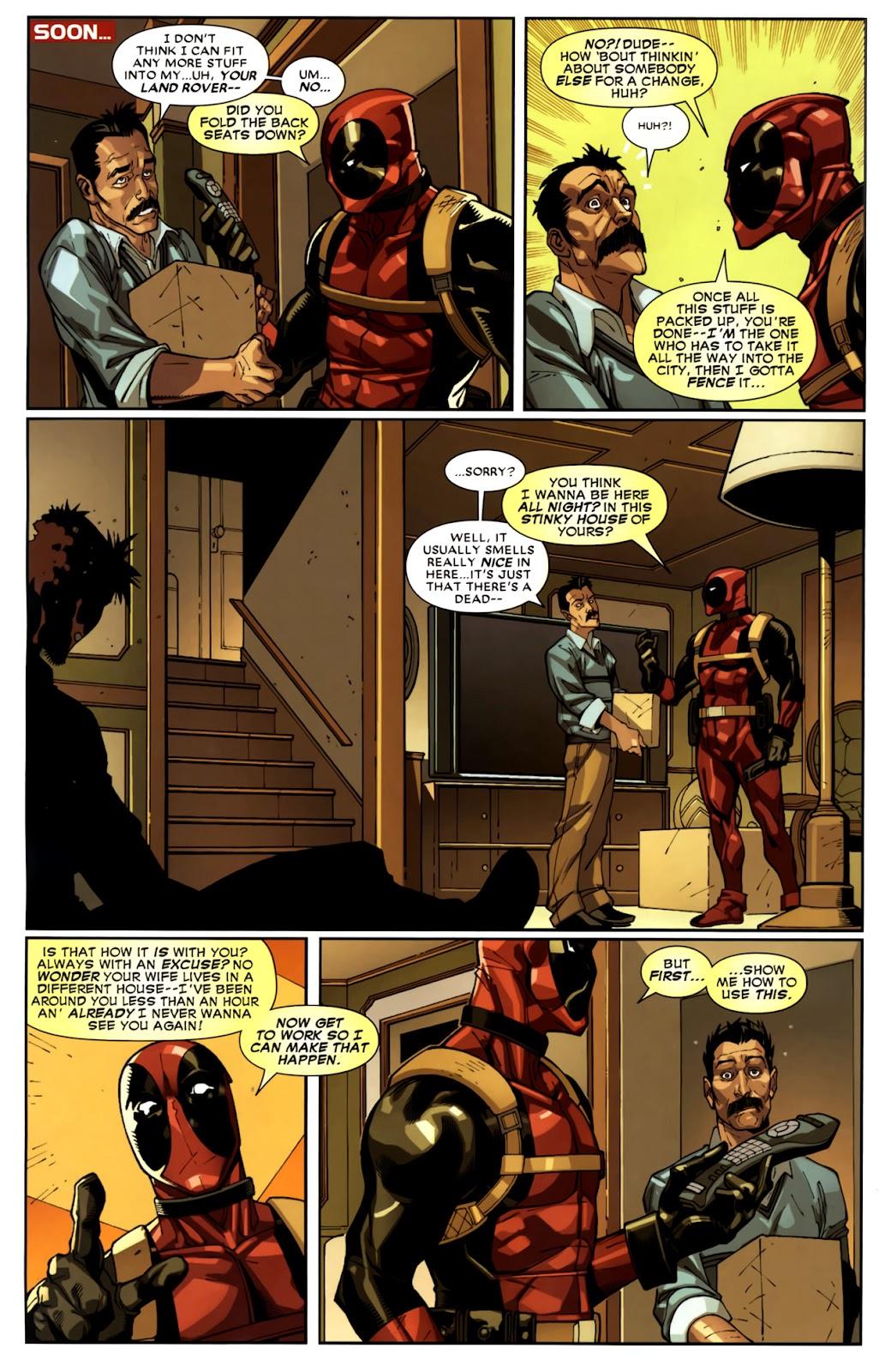 Read online Deadpool (2008) comic -  Issue #10 - 14
