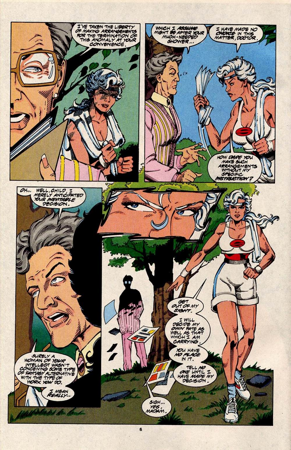 Read online Silver Sable and the Wild Pack comic -  Issue #31 - 6