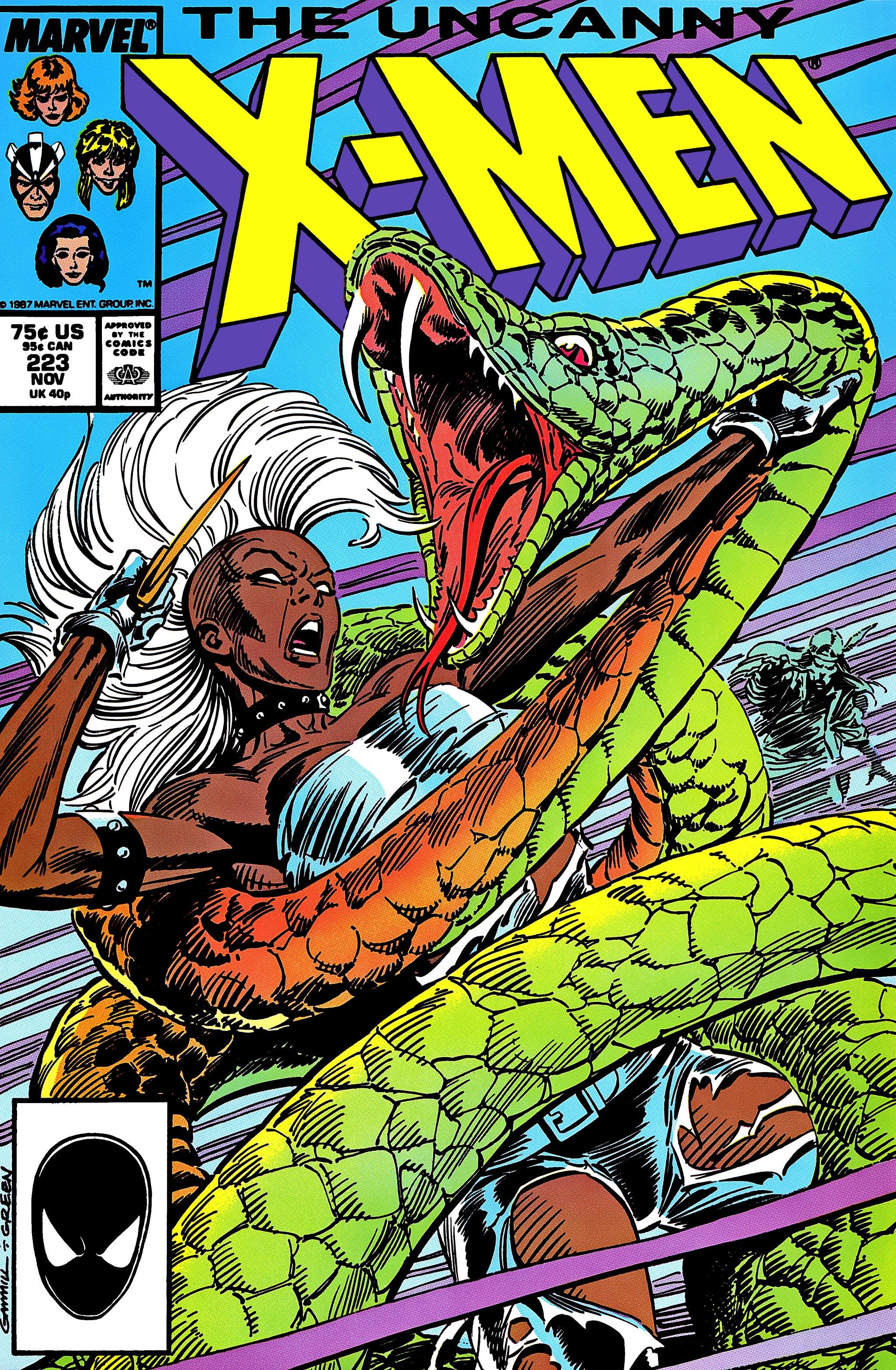 Uncanny X-Men (1963) 223 Page 1