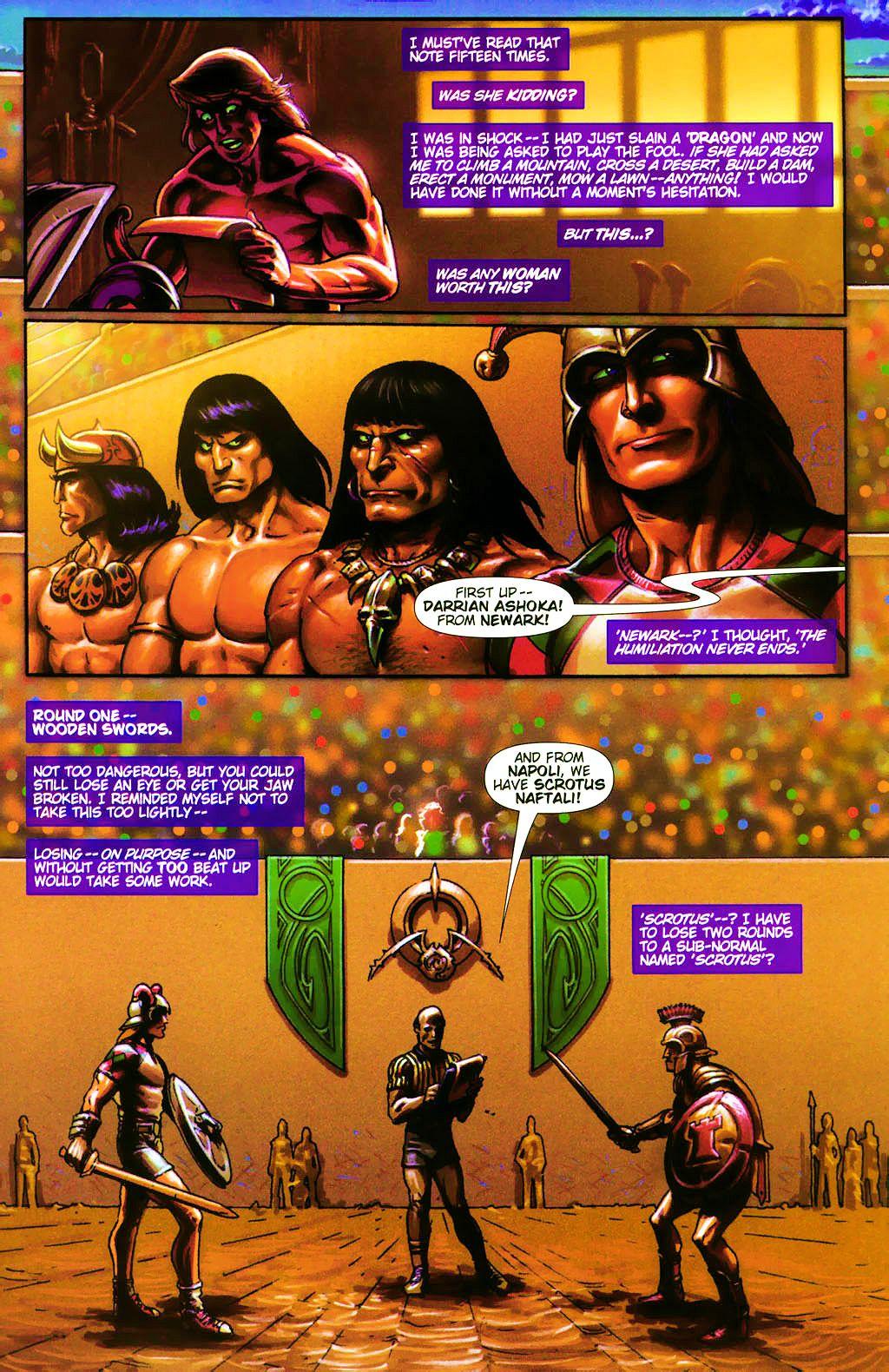 Read online Dawn: Three Tiers comic -  Issue #4 - 11