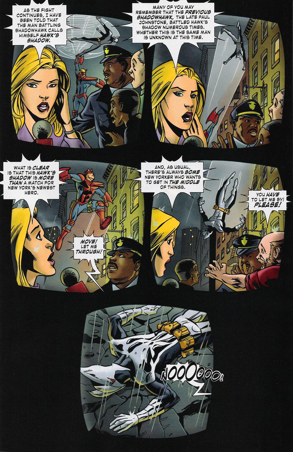 Read online ShadowHawk (2005) comic -  Issue #4 - 11