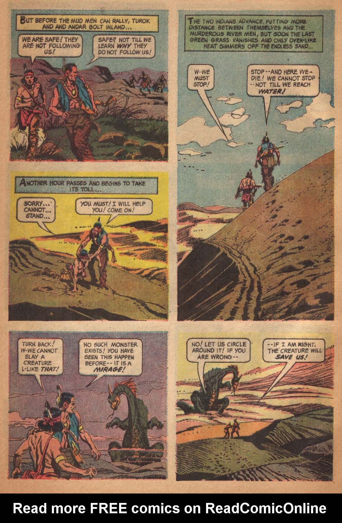 Read online Turok, Son of Stone comic -  Issue #47 - 32