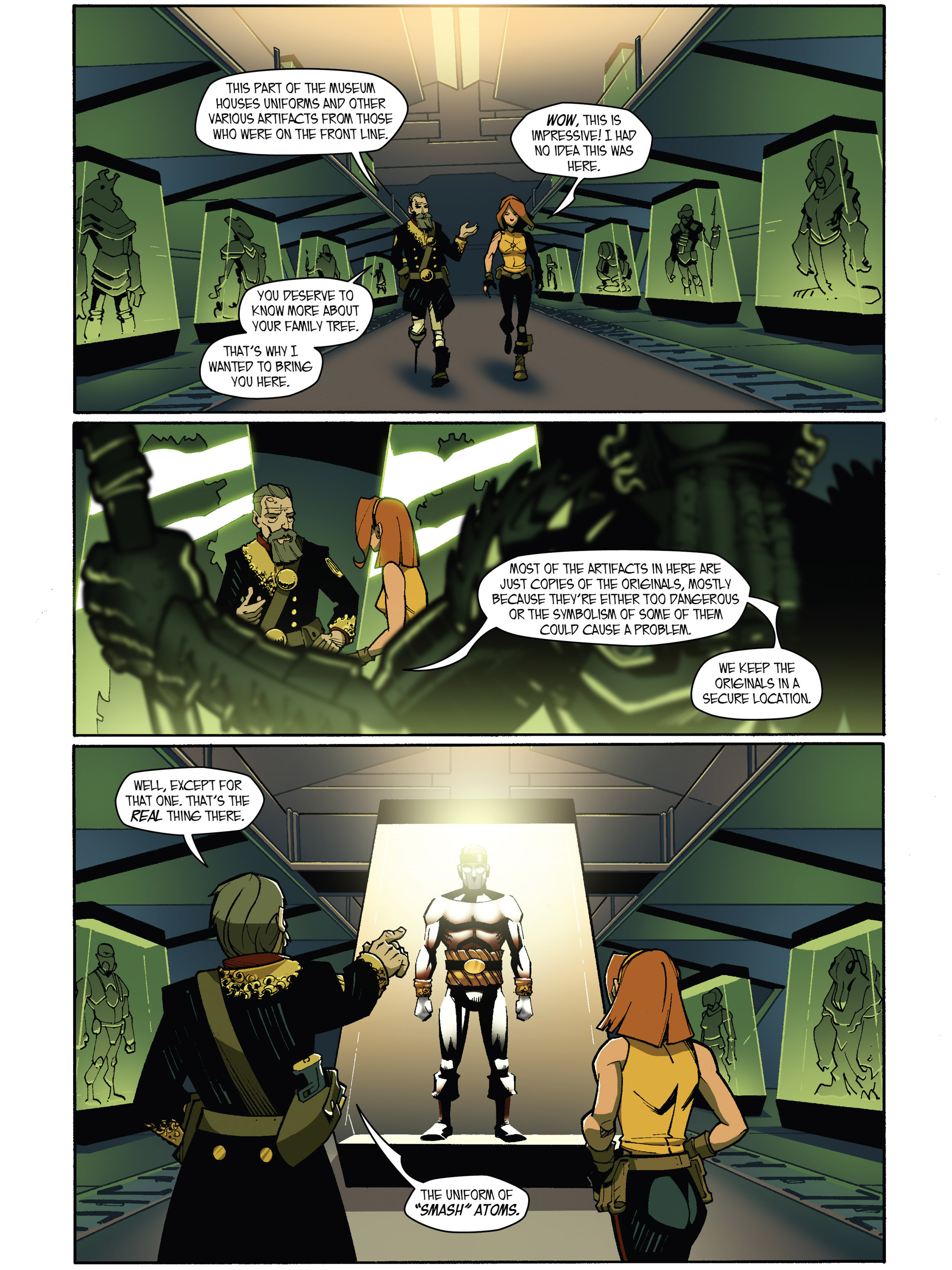 Read online Amber Atoms comic -  Issue #5 - 17