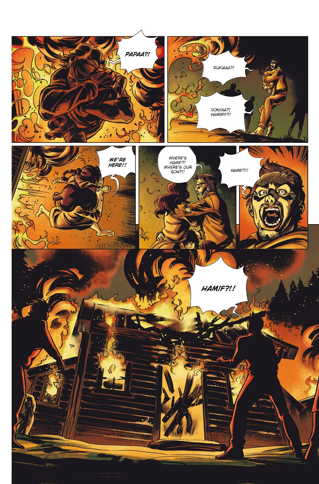 Read online Millennium: The Girl Who Danced With Death comic -  Issue #1 - 24