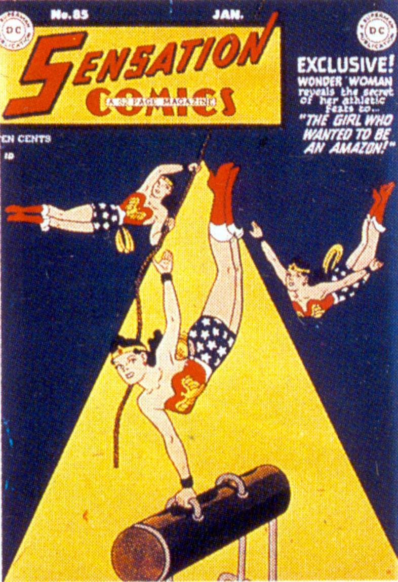 Sensation (Mystery) Comics 85 Page 1