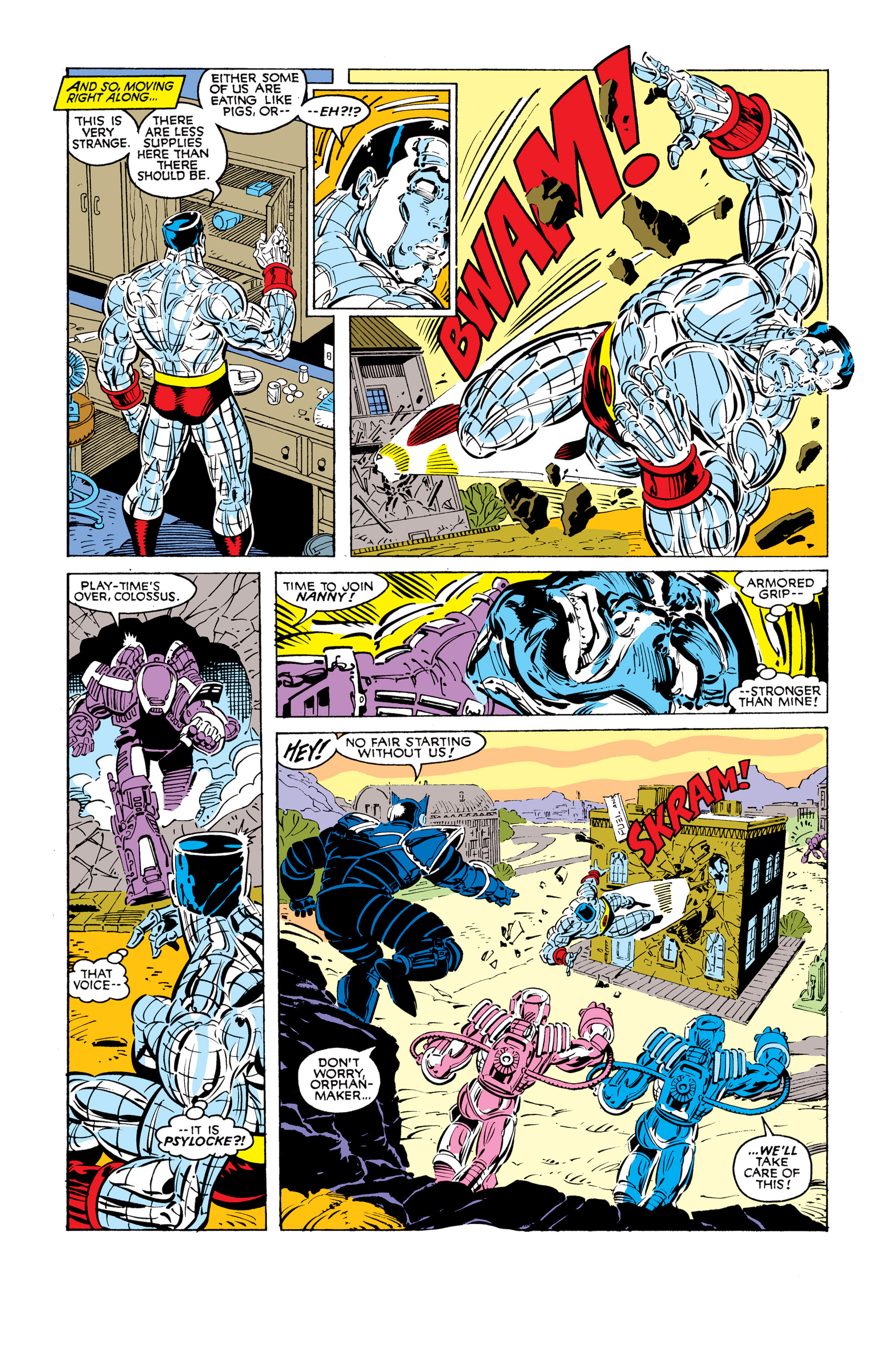 Read online Uncanny X-Men (1963) comic -  Issue #248 - 14