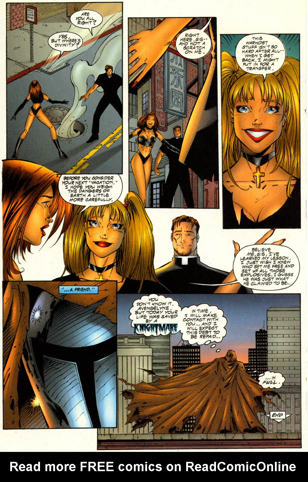 Read online Avengelyne (1996) comic -  Issue #7 - 17