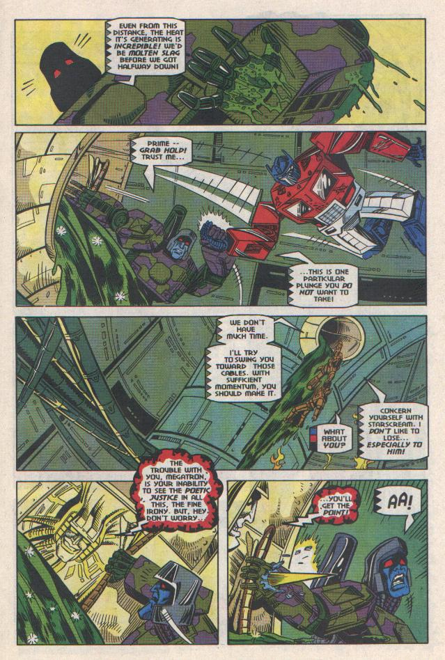 Read online Transformers: Generation 2 comic -  Issue #11 - 10